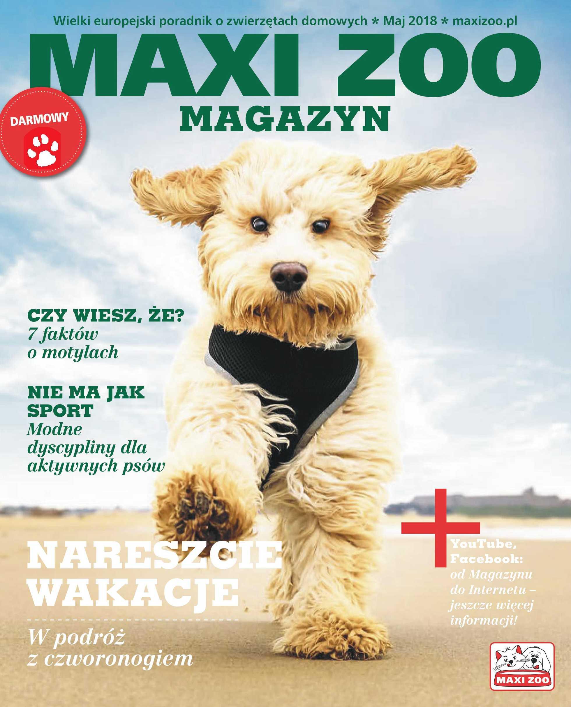 Maxi ZOO - gazetka promocyjna ważna od 05.05.2018 do 31.03.2019 - strona 1.