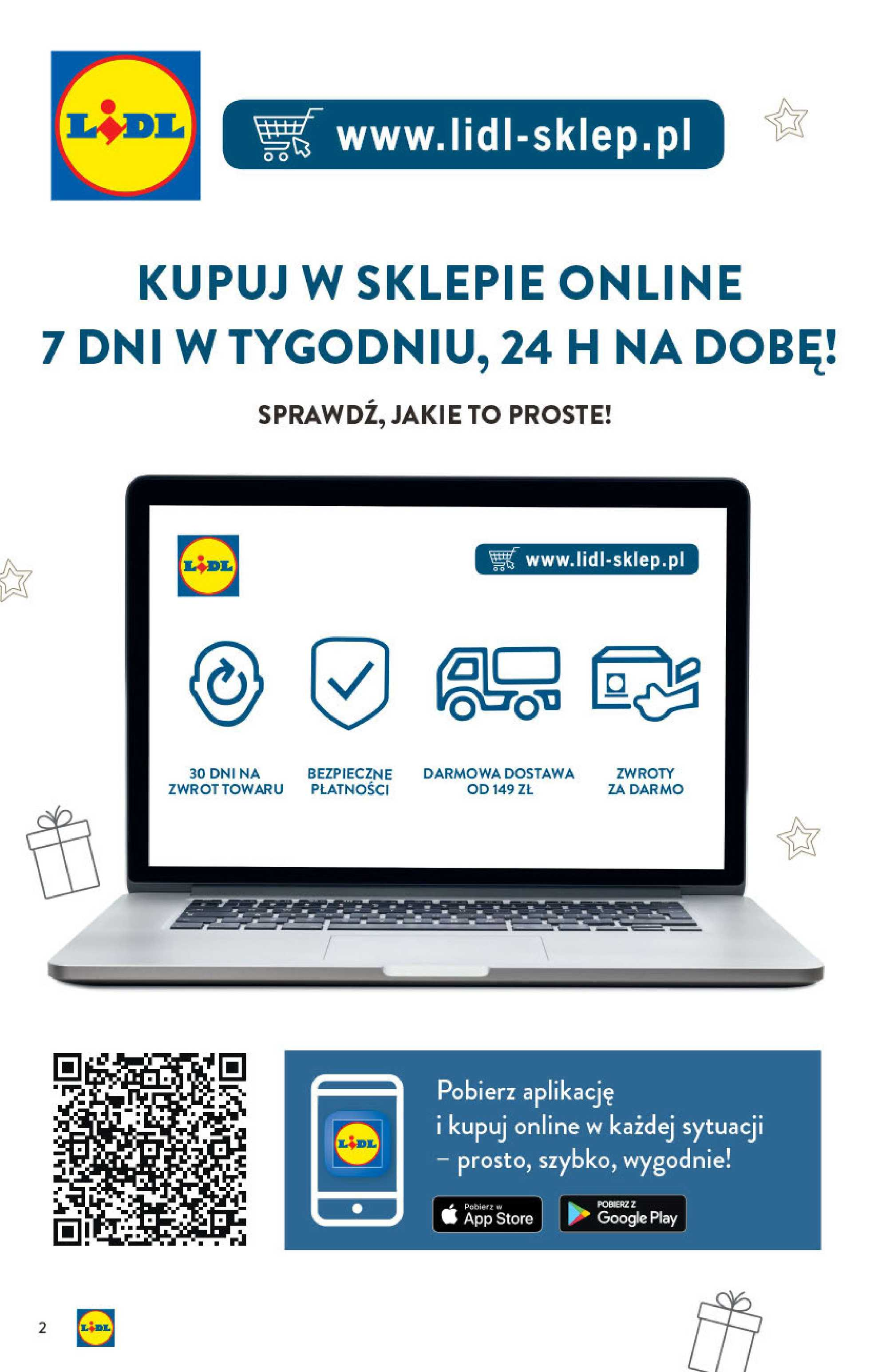 Lidl - gazetka promocyjna ważna od 14.10.2019 do 24.12.2019 - strona 2.