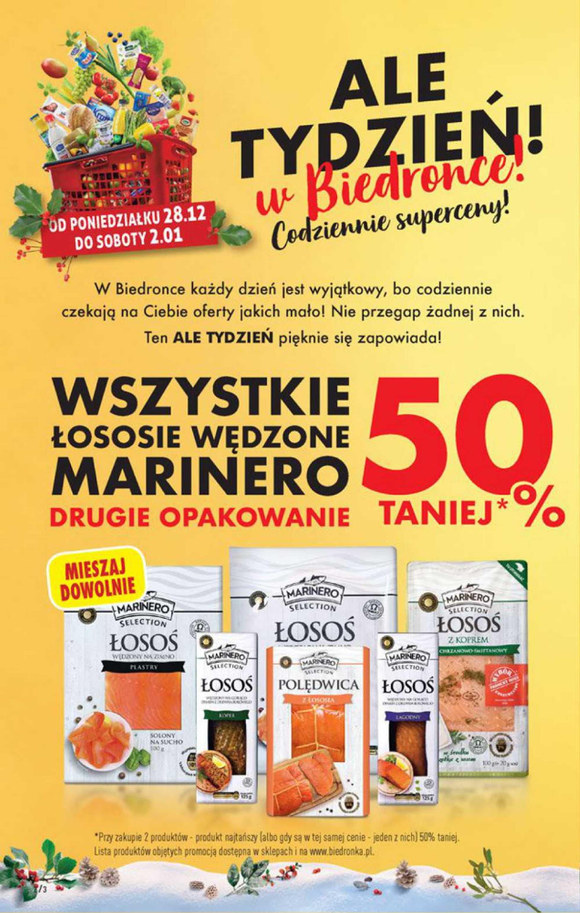 Biedronka - gazetka promocyjna ważna od 28.12.2020 do 02.01.2021 - strona 2.