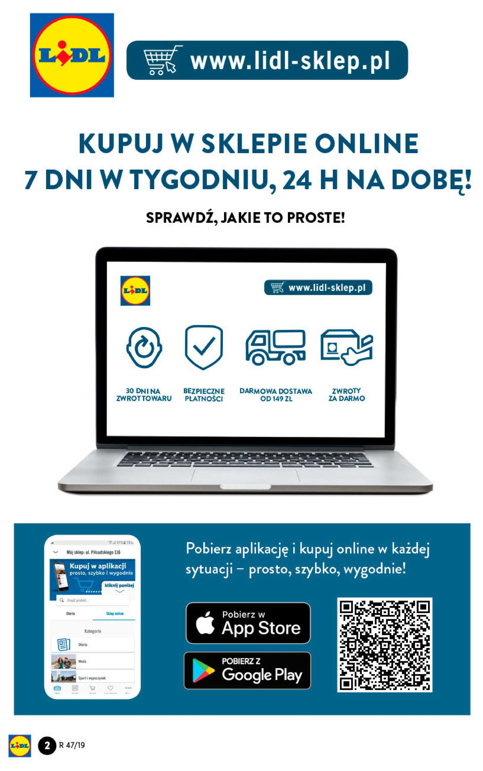 Lidl - gazetka promocyjna ważna od 18.11.2019 do 24.11.2019 - strona 2.
