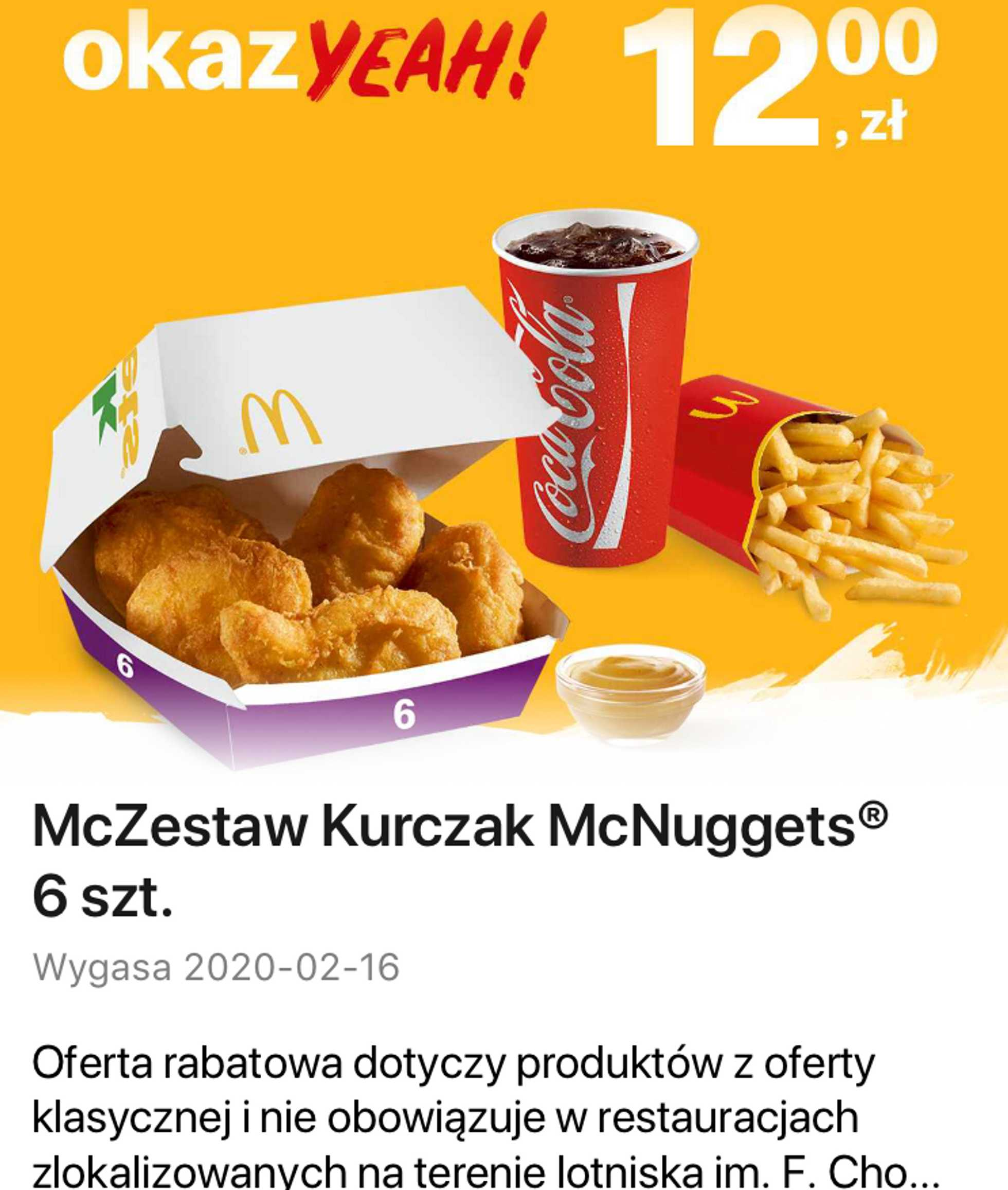 McDonald's - gazetka promocyjna ważna od 01.02.2020 do 16.02.2020 - strona 1.