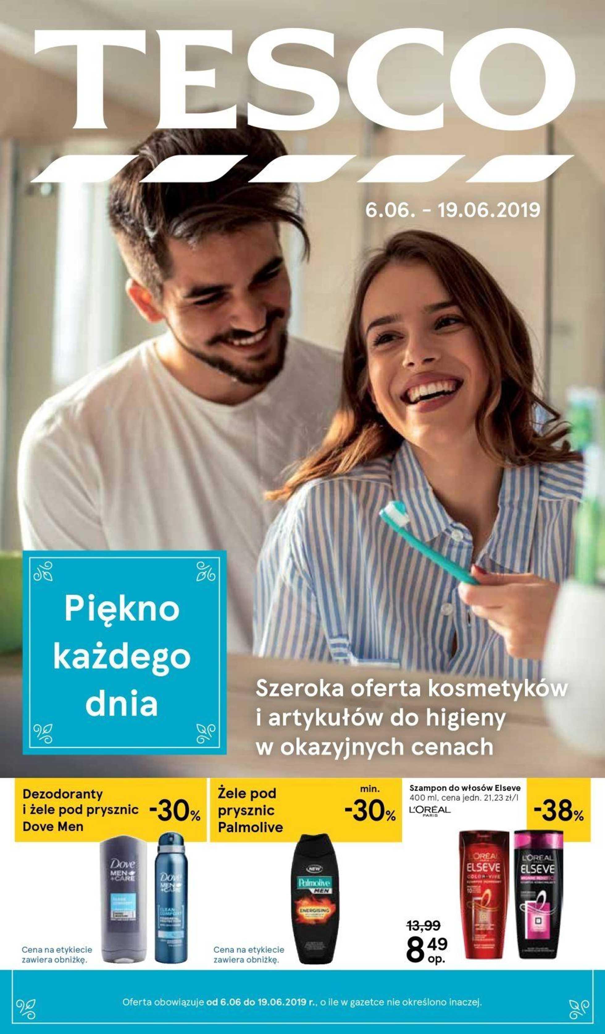 Tesco - gazetka promocyjna ważna od 06.06.2019 do 19.06.2019 - strona 1.