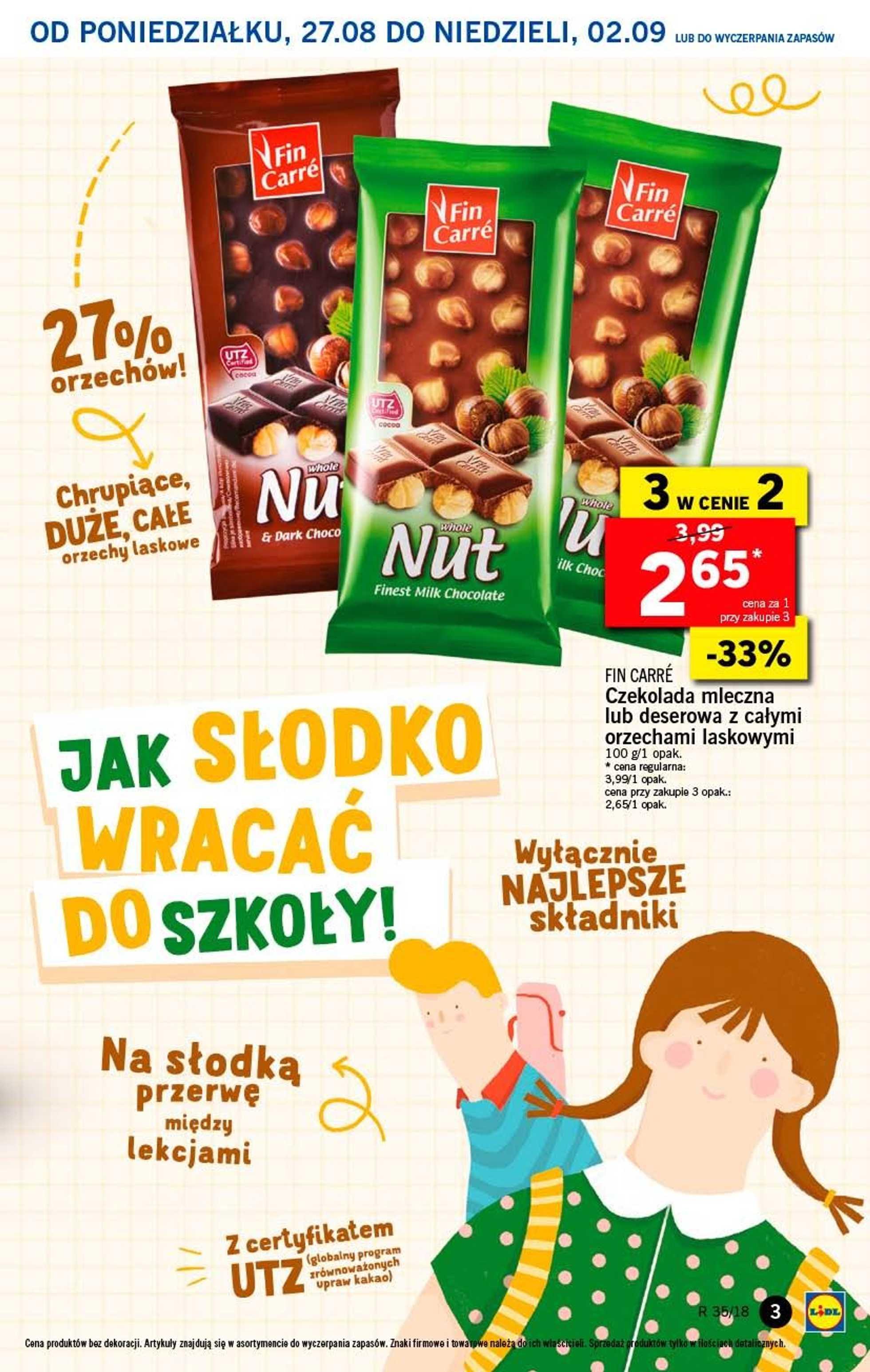 Lidl - gazetka promocyjna ważna od 27.08.2018 do 29.08.2018 - strona 3.