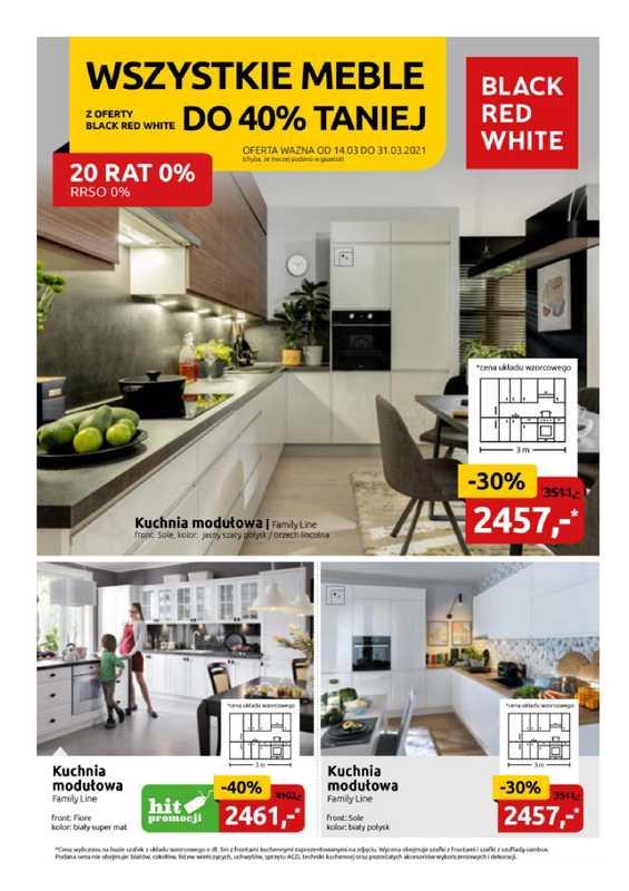 Black Red White - gazetka promocyjna ważna od 14.03.2021 do 31.03.2021 - strona 1.