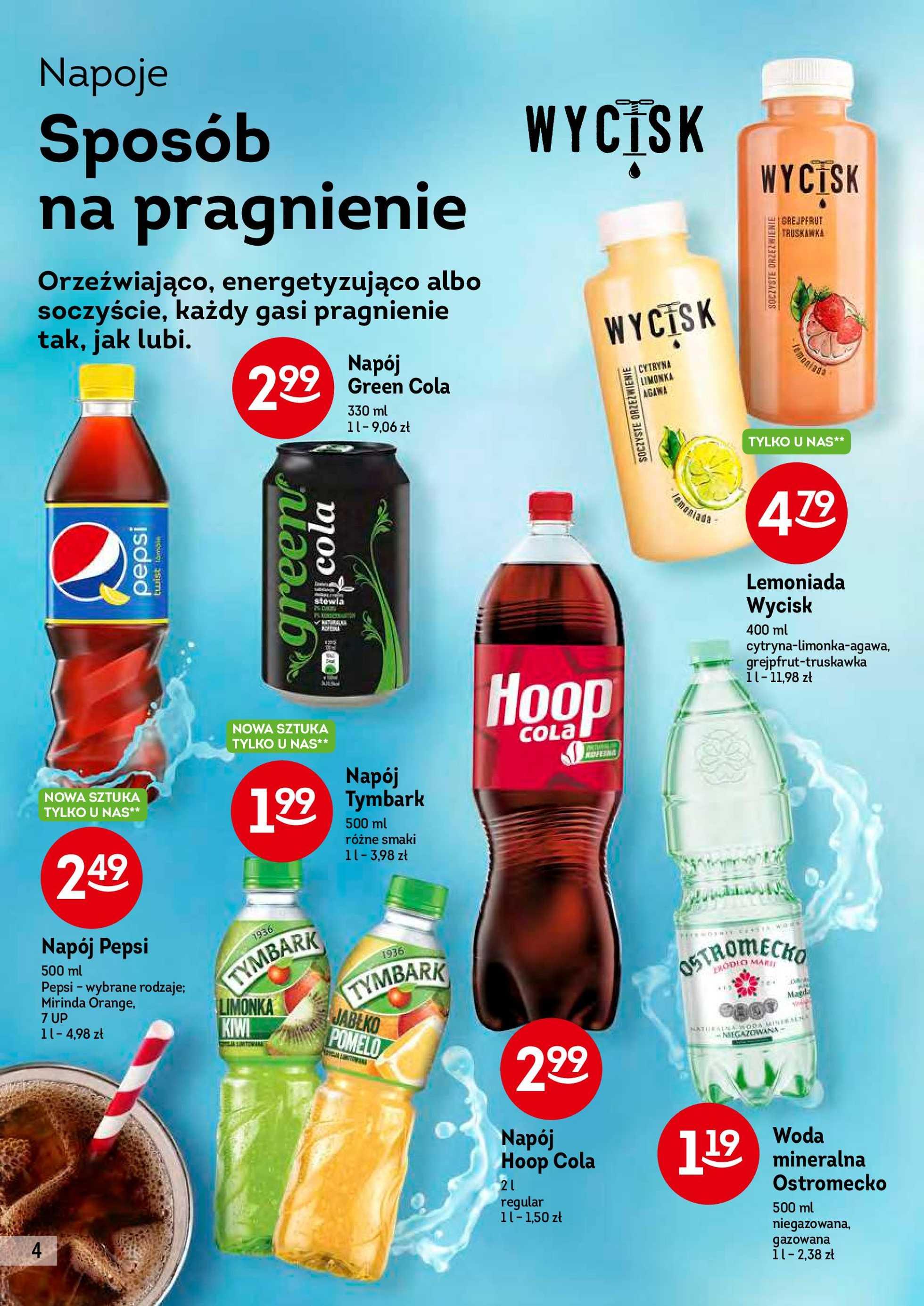 Żabka - gazetka promocyjna ważna od 28.08.2019 do 10.09.2019 - strona 4.