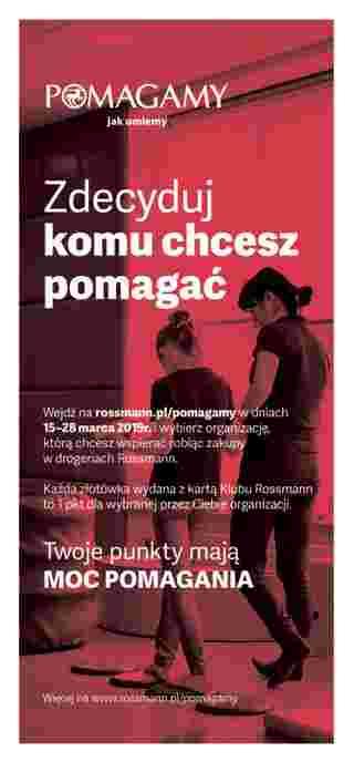 Rossmann - gazetka promocyjna ważna od 08.03.2019 do 19.03.2019 - strona 20.