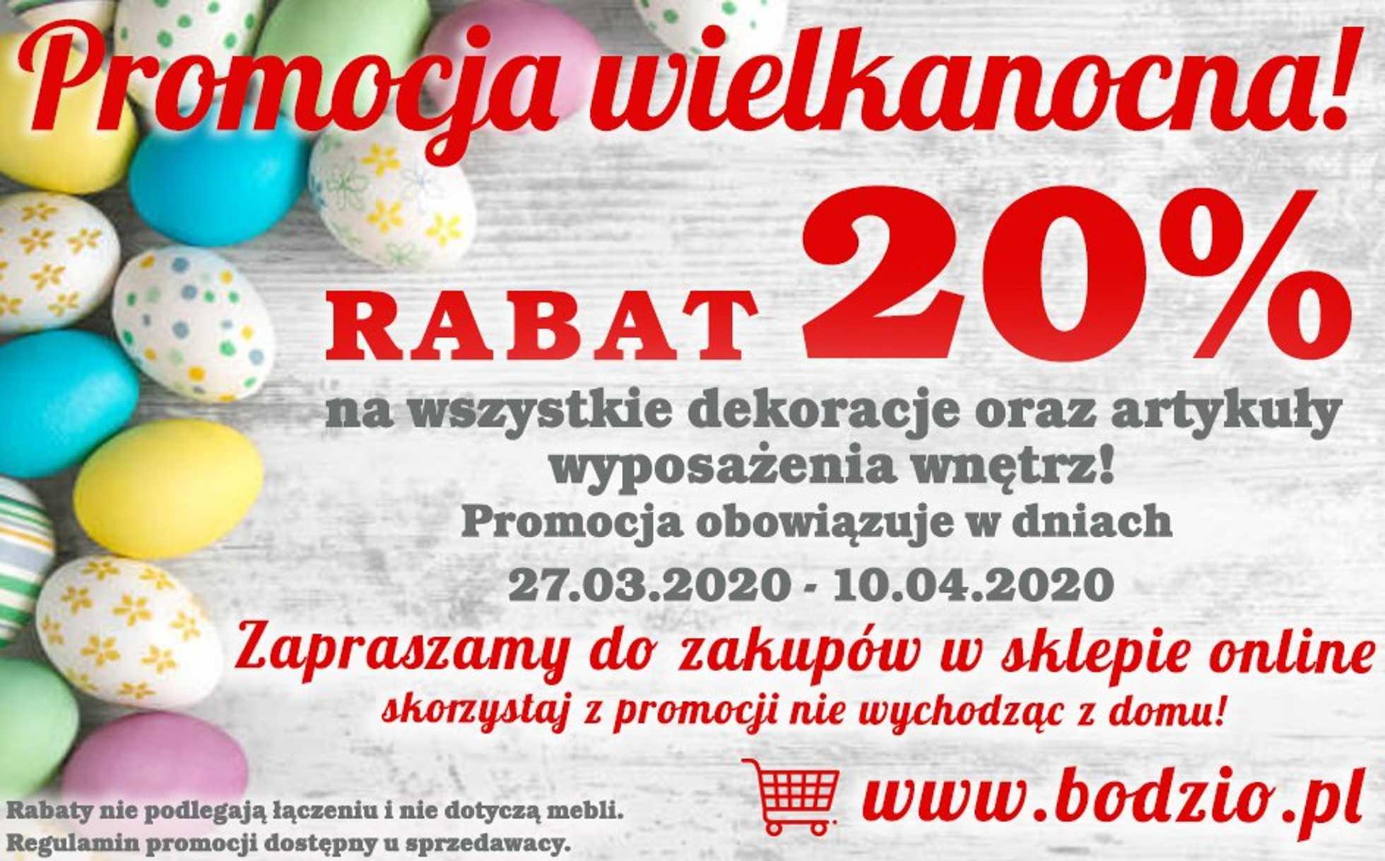 Bodzio - gazetka promocyjna ważna od 27.03.2020 do 10.04.2020 - strona 1.