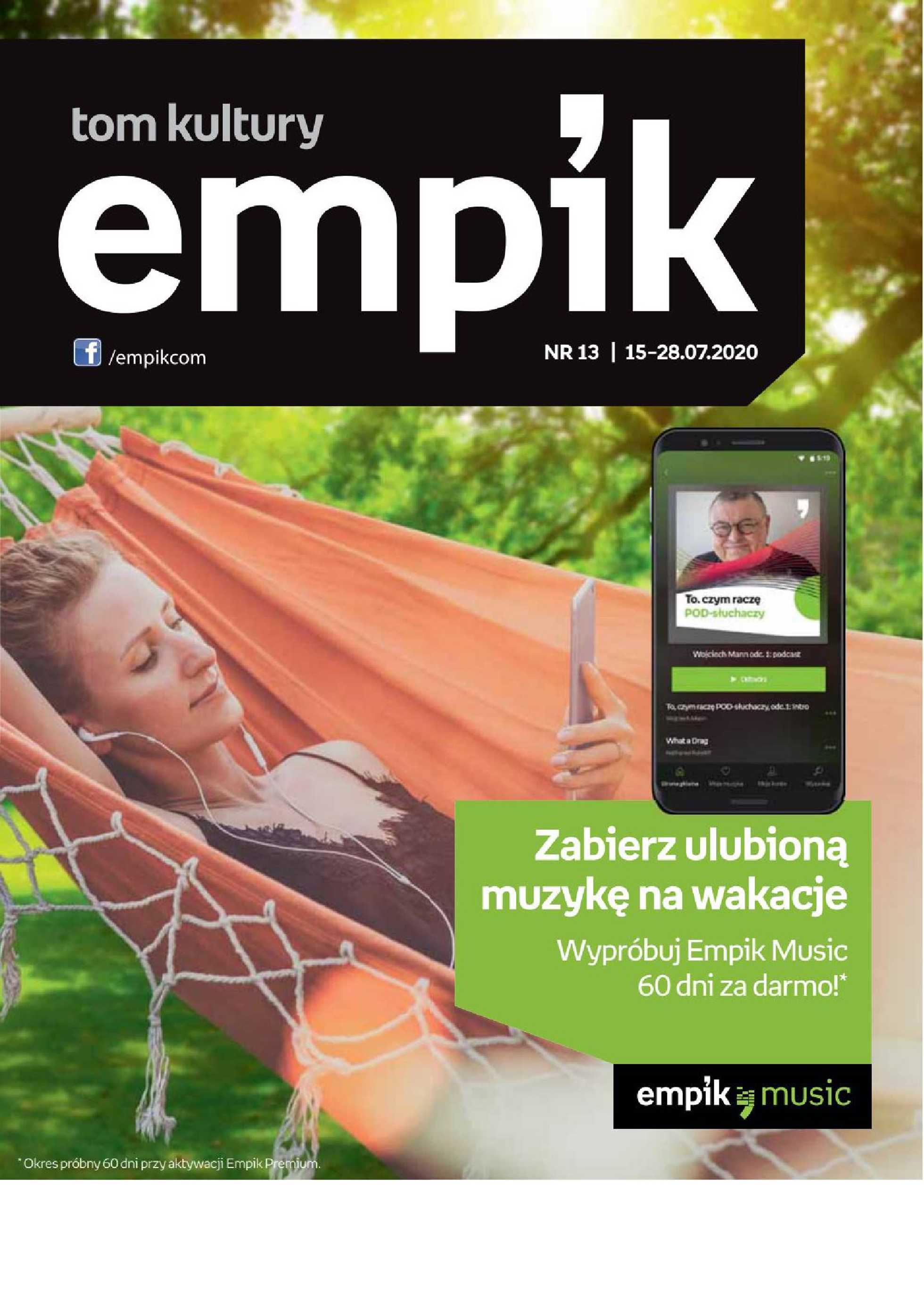 Empik - gazetka promocyjna ważna od 15.07.2020 do 28.07.2020 - strona 1.
