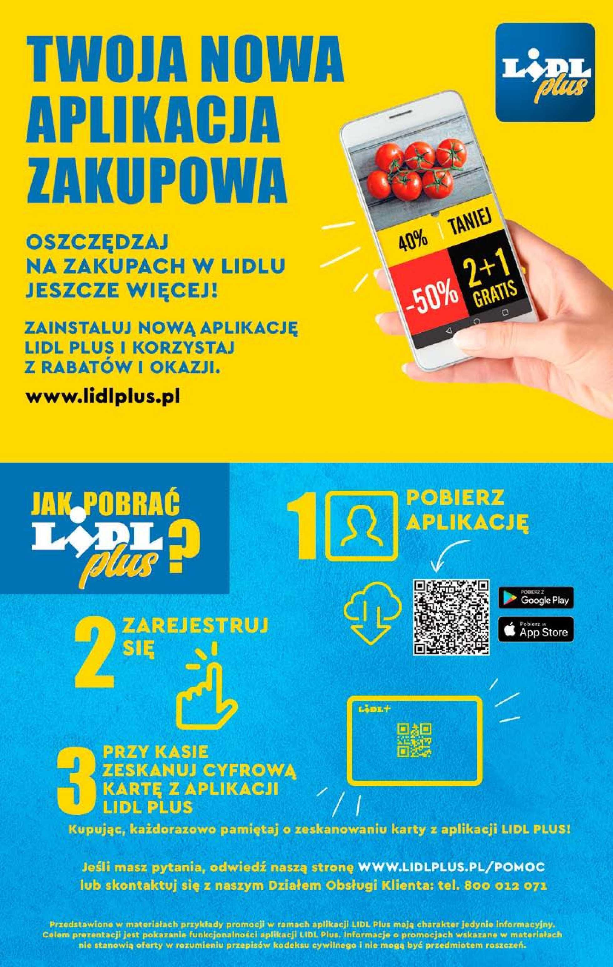 Lidl - gazetka promocyjna ważna od 23.04.2019 do 28.04.2019 - strona 2.
