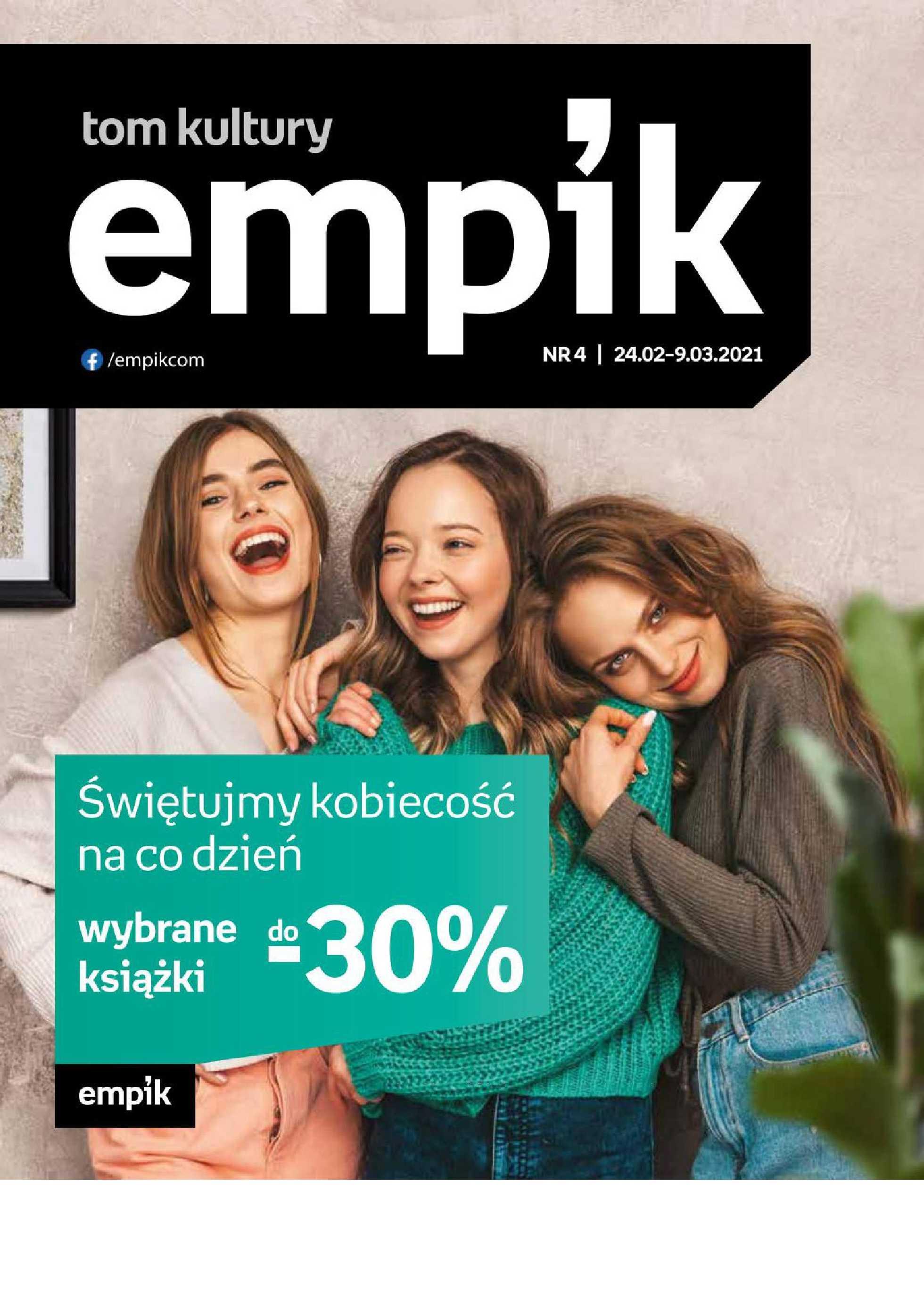Empik - gazetka promocyjna ważna od 24.02.2021 do 09.03.2021 - strona 1.