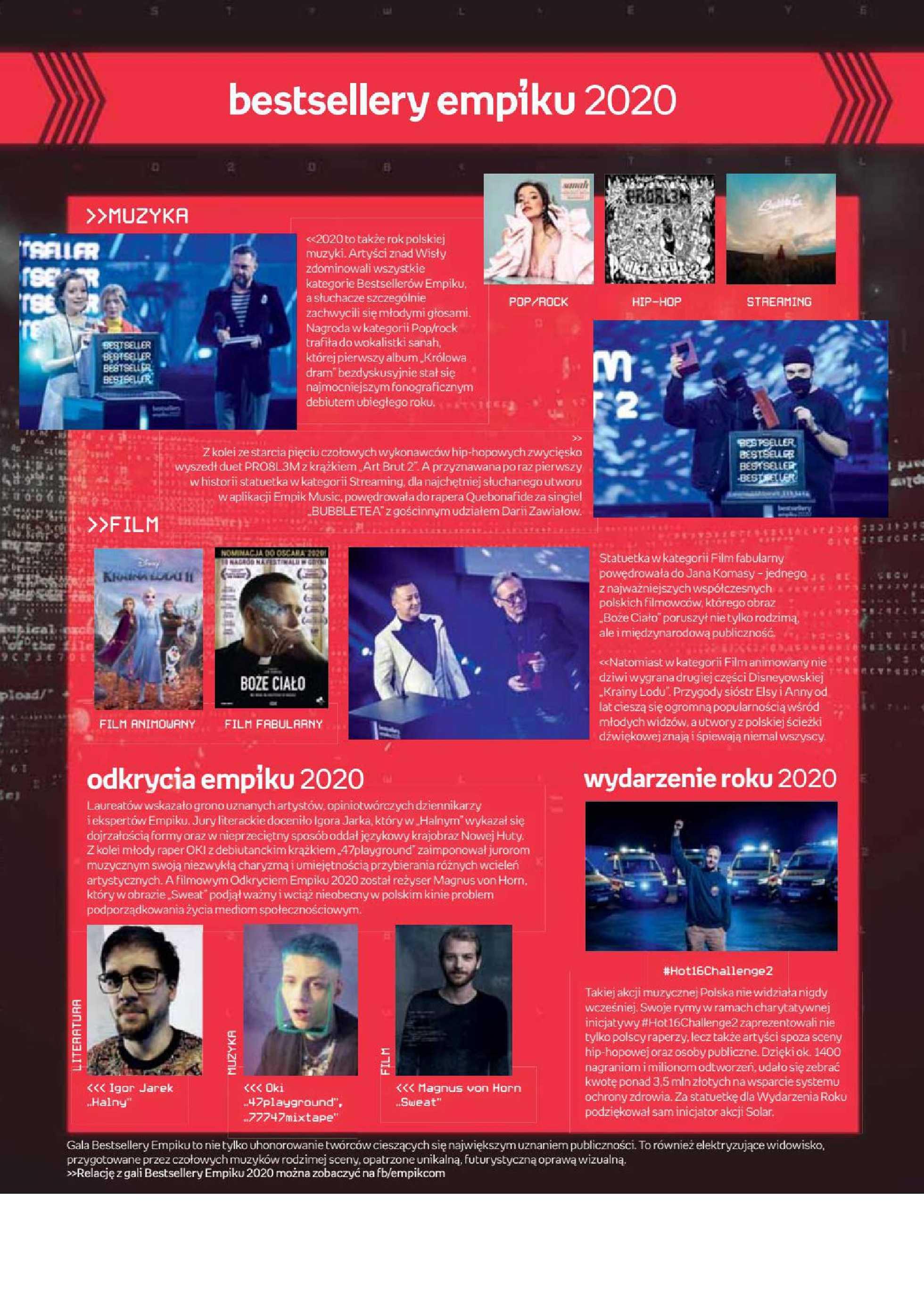 Empik - gazetka promocyjna ważna od 24.02.2021 do 09.03.2021 - strona 3.