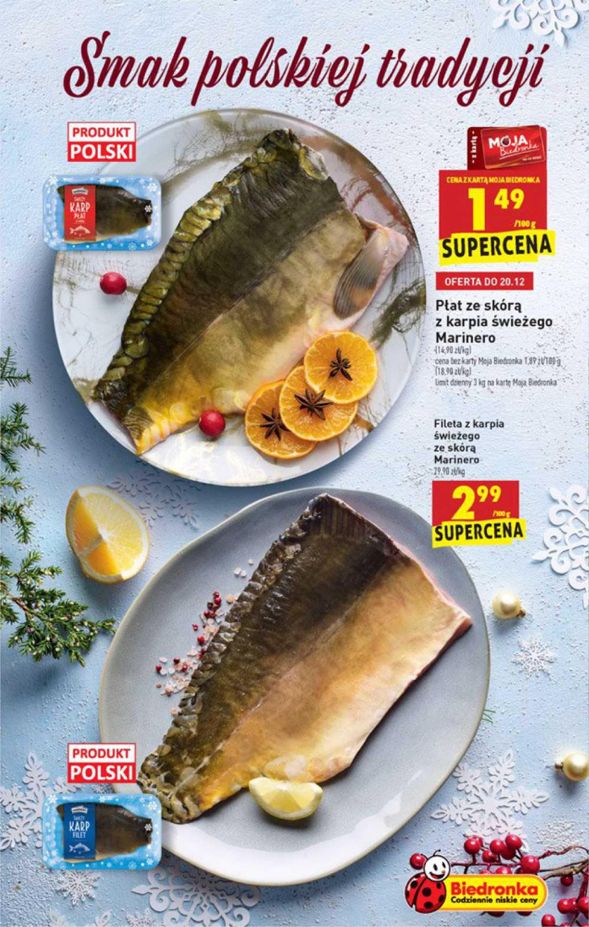 Biedronka - gazetka promocyjna ważna od 17.12.2020 do 24.12.2020 - strona 3.