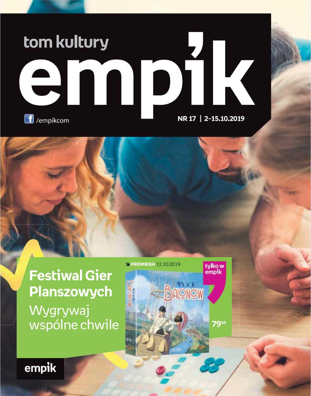 Empik - gazetka promocyjna ważna od 02.10.2019 do 15.10.2019 - strona 1.