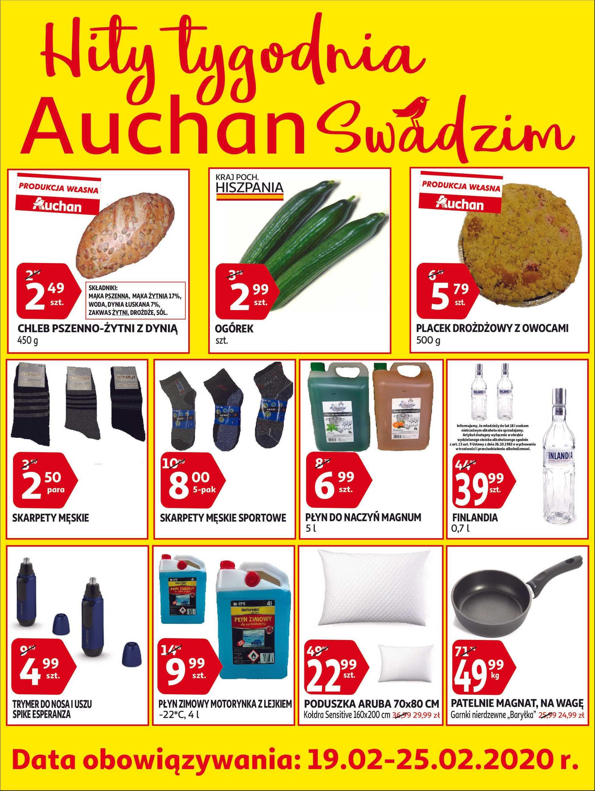 Auchan - gazetka promocyjna ważna od 19.02.2020 do 25.02.2020 - strona 1.