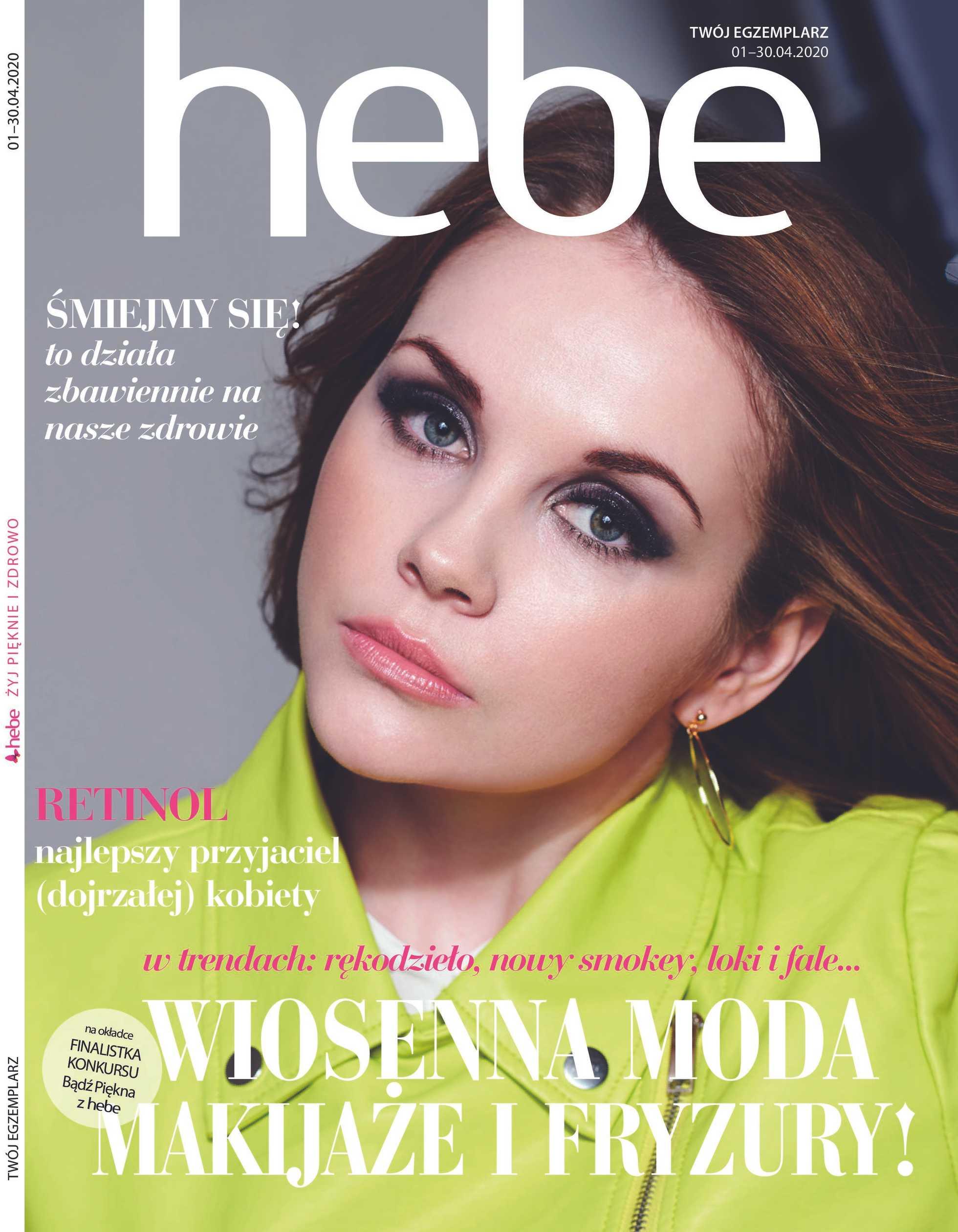 Hebe - gazetka promocyjna ważna od 01.04.2020 do 30.04.2020 - strona 1.