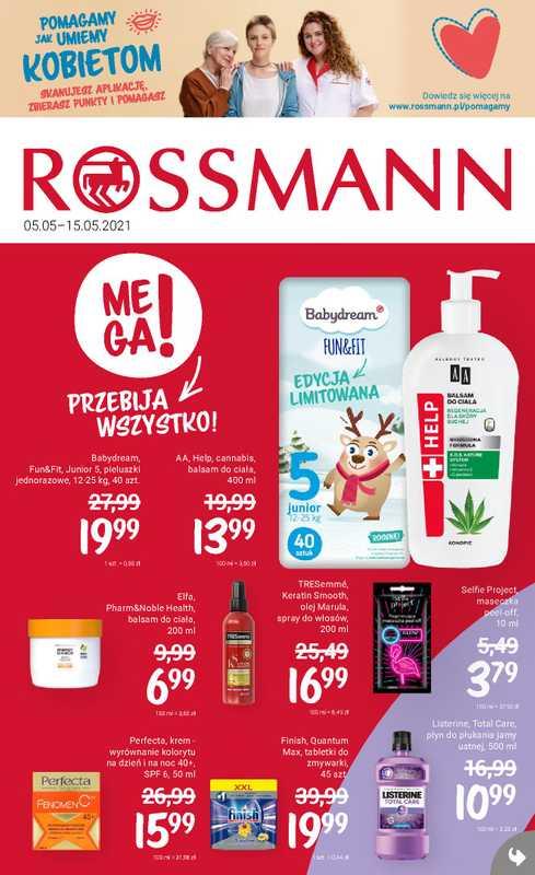 Rossmann - gazetka promocyjna ważna od 05.05.2021 do 15.05.2021 - strona 1.
