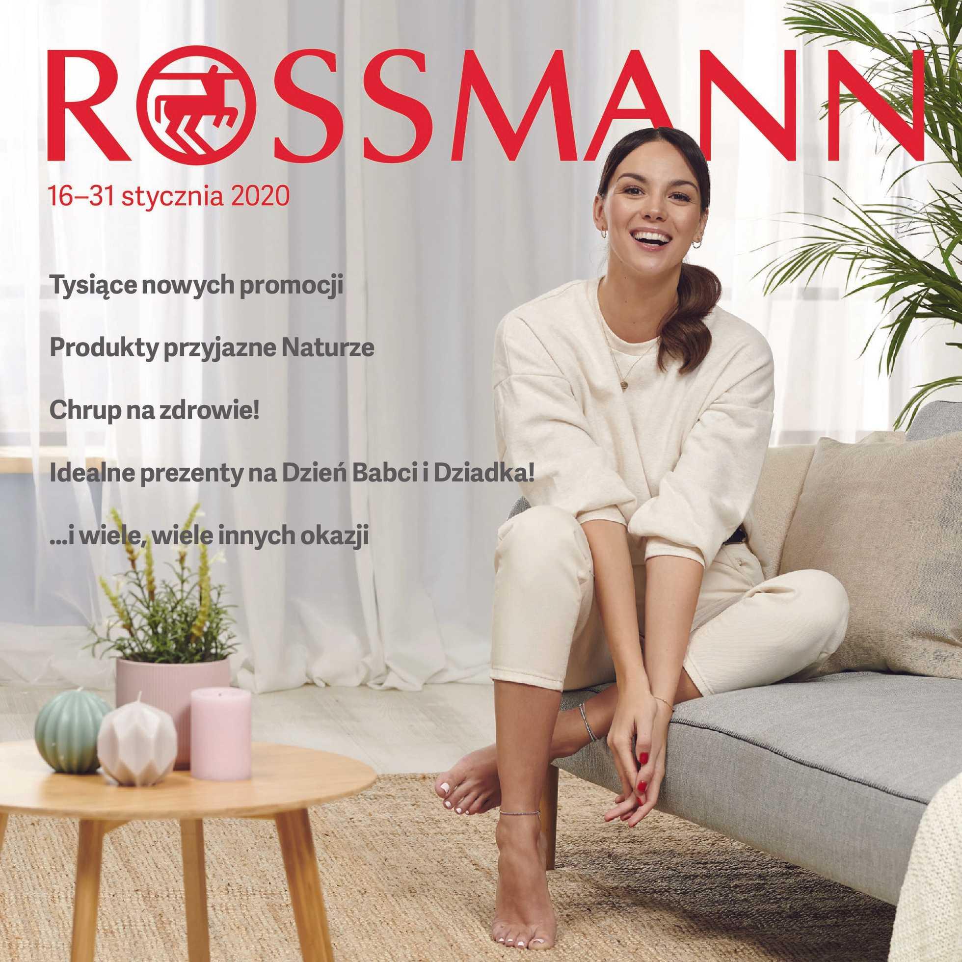 Rossmann - gazetka promocyjna ważna od 16.01.2020 do 31.01.2020 - strona 1.
