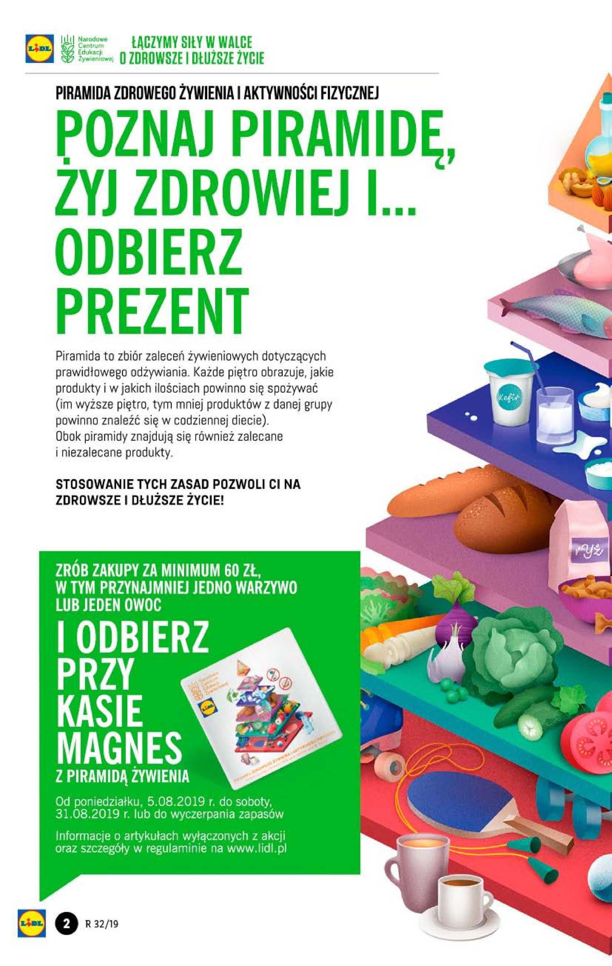 Lidl - gazetka promocyjna ważna od 08.08.2019 do 10.08.2019 - strona 2.