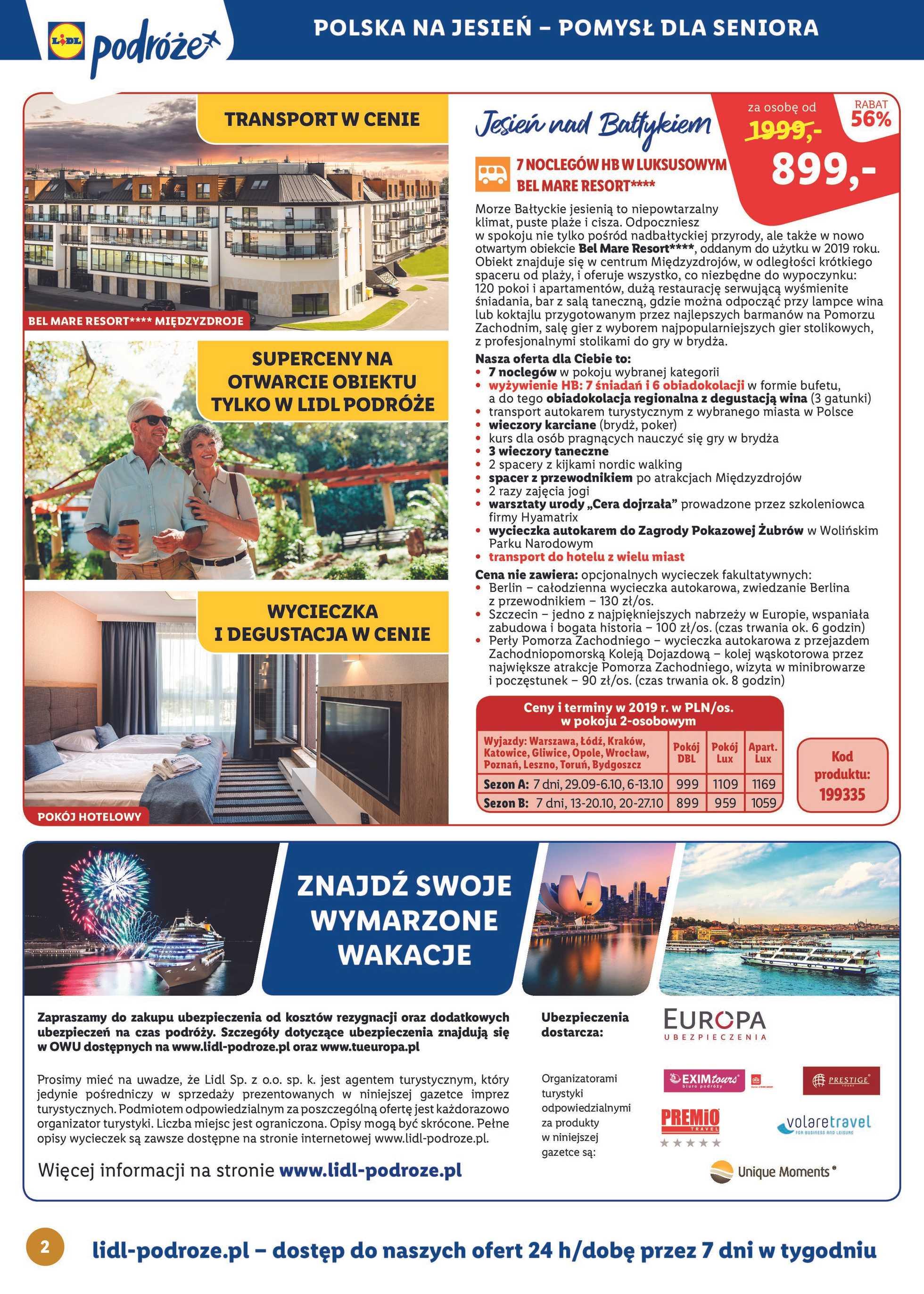 Lidl - gazetka promocyjna ważna od 19.08.2019 do 16.09.2019 - strona 2.