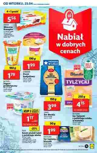 Lidl - gazetka promocyjna ważna od 23.04.2019 do 28.04.2019 - strona 15.