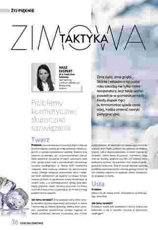 Ziko Dermo - gazetka promocyjna ważna od 23.12.2019 do 20.03.2020 - strona 36.