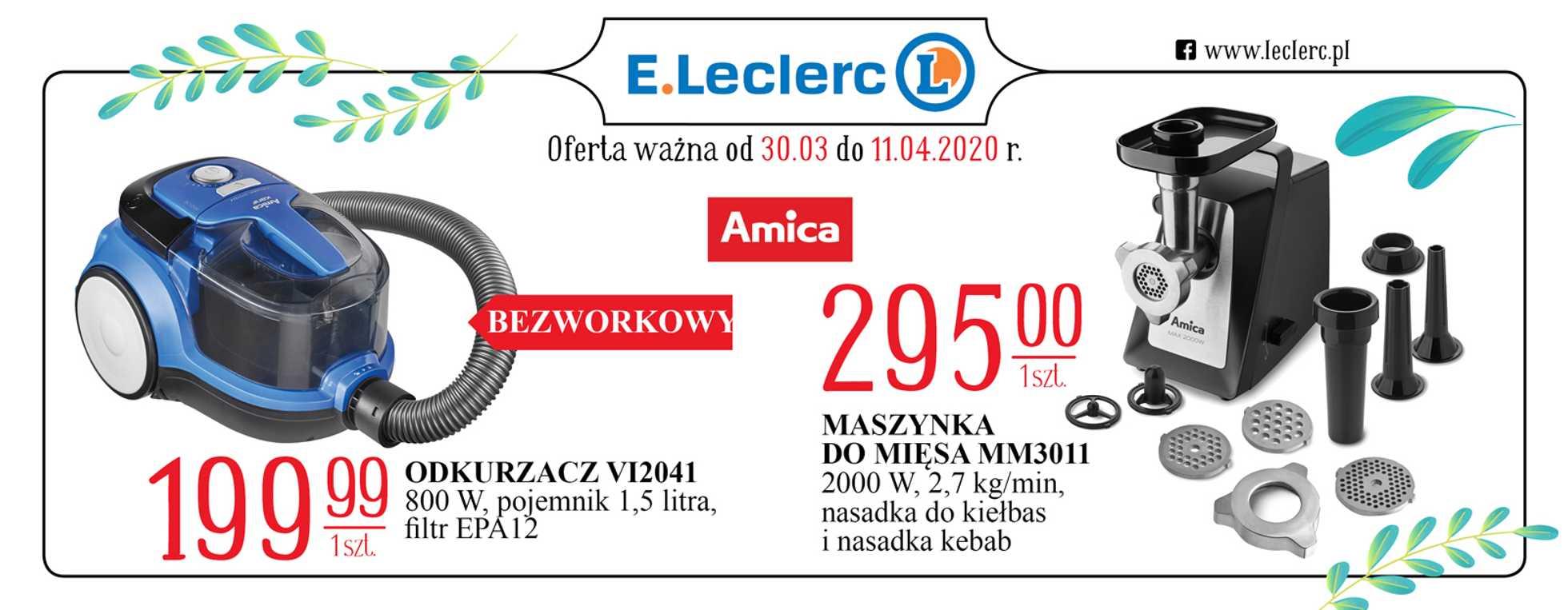 E.Leclerc - gazetka promocyjna ważna od 30.03.2020 do 11.04.2020 - strona 3.