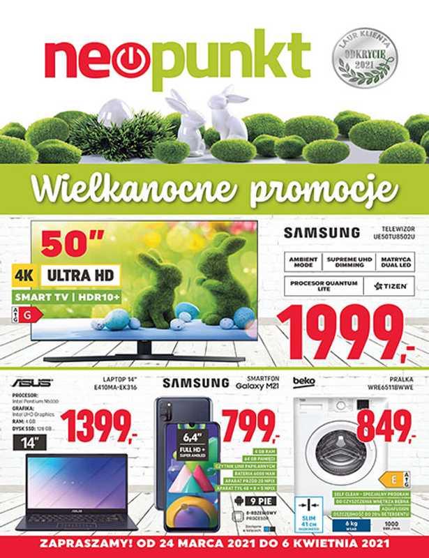 Neopunkt - gazetka promocyjna ważna od 24.03.2021 do 06.04.2021 - strona 1.