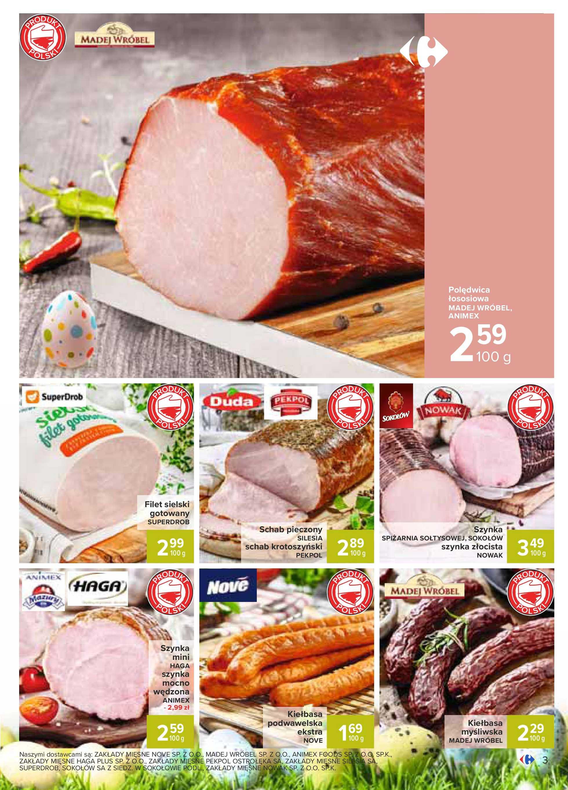 Carrefour - gazetka promocyjna ważna od 31.03.2020 do 05.04.2020 - strona 3.