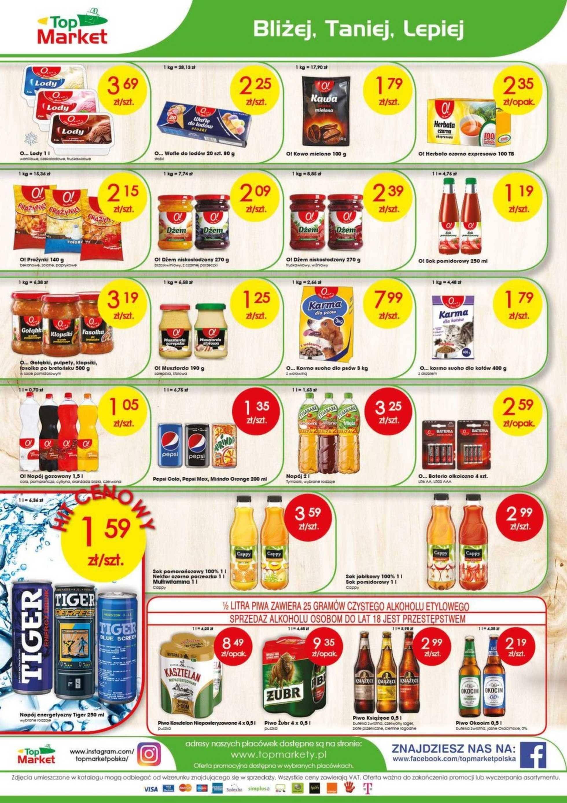 Top Market - gazetka promocyjna ważna od 29.04.2019 do 04.05.2019 - strona 4.