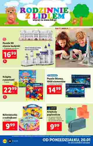 Lidl - gazetka promocyjna ważna od 20.01.2020 do 26.01.2020 - strona 20.