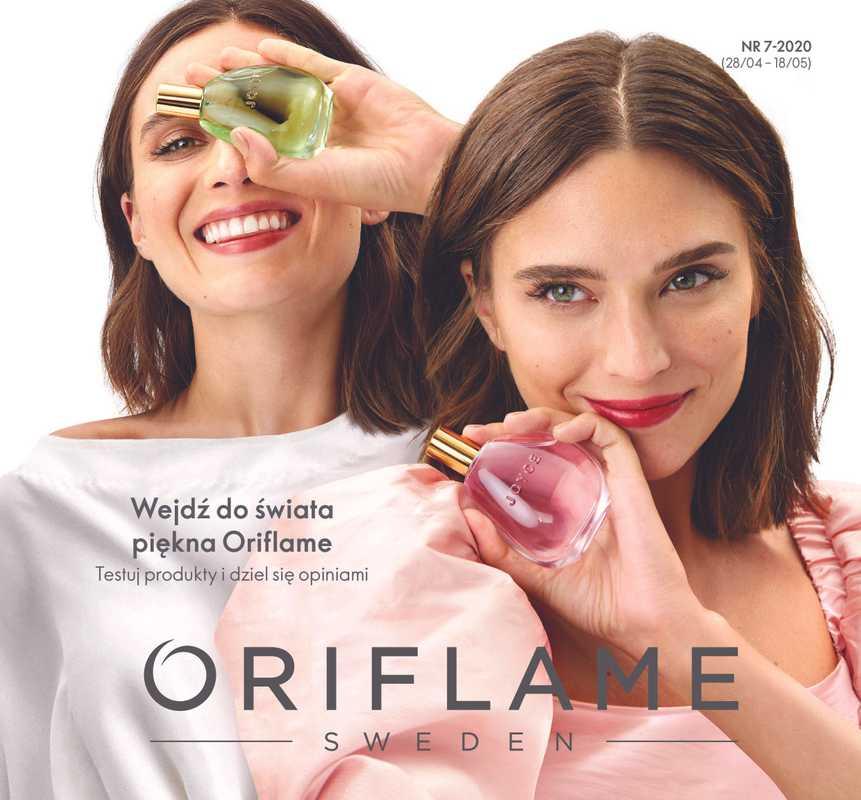 Oriflame - gazetka promocyjna ważna od 28.04.2020 do 18.05.2020 - strona 1.