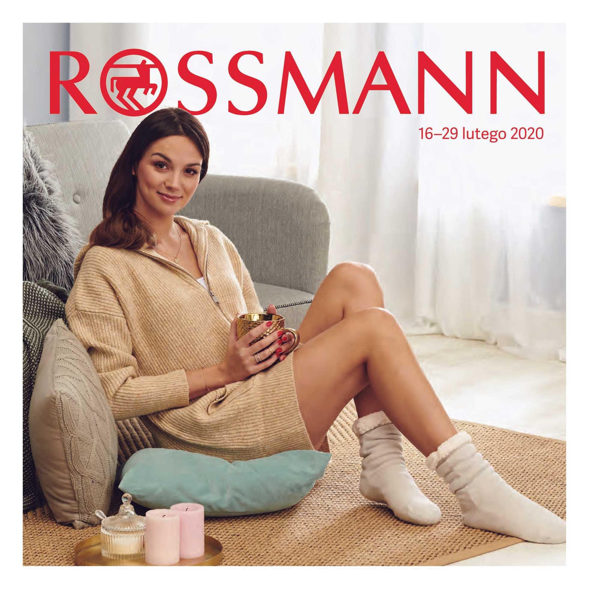 Rossmann - gazetka promocyjna ważna od 16.02.2020 do 29.02.2020 - strona 1.