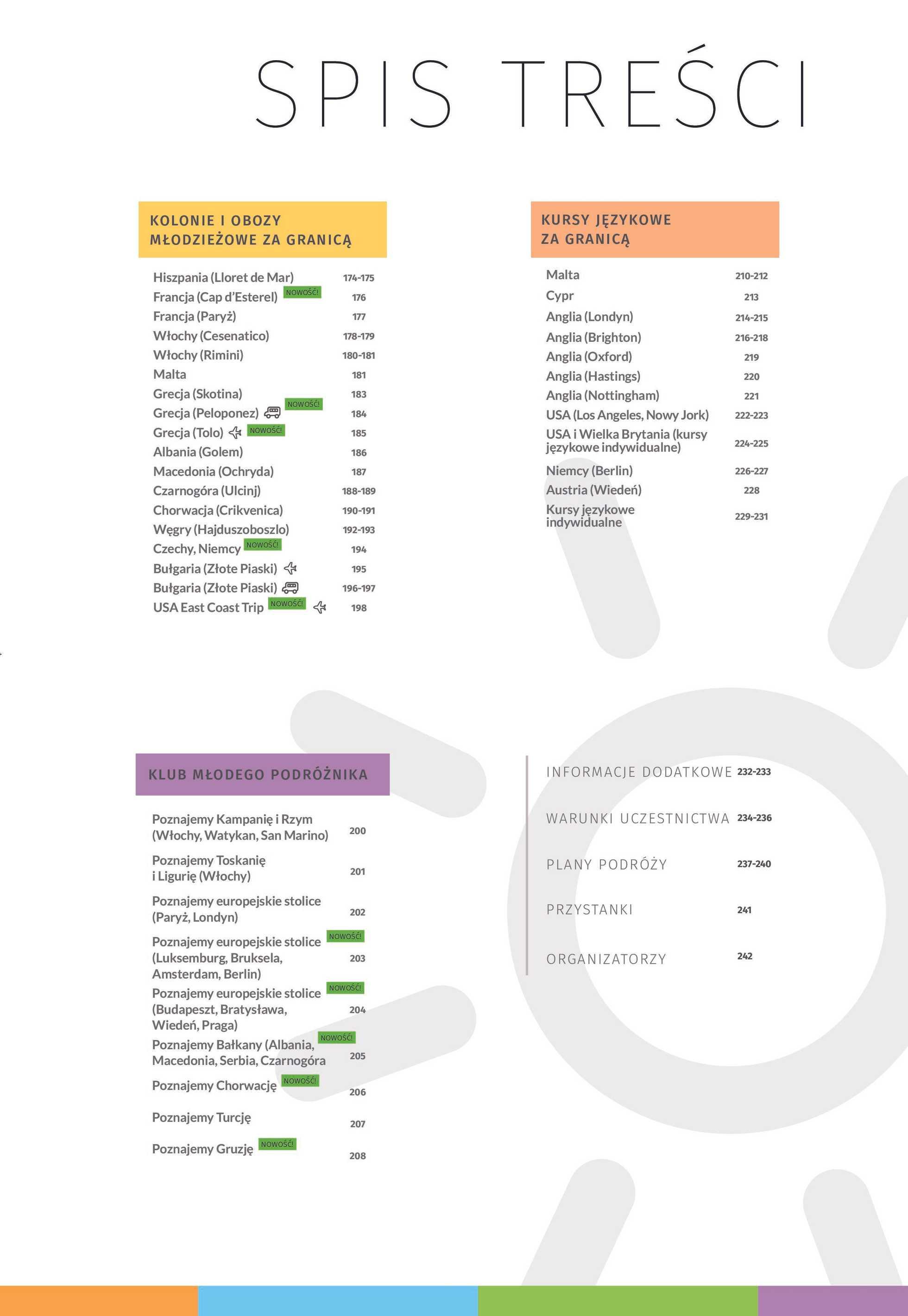 Almatur - gazetka promocyjna ważna od 02.04.2020 do 22.09.2020 - strona 3.
