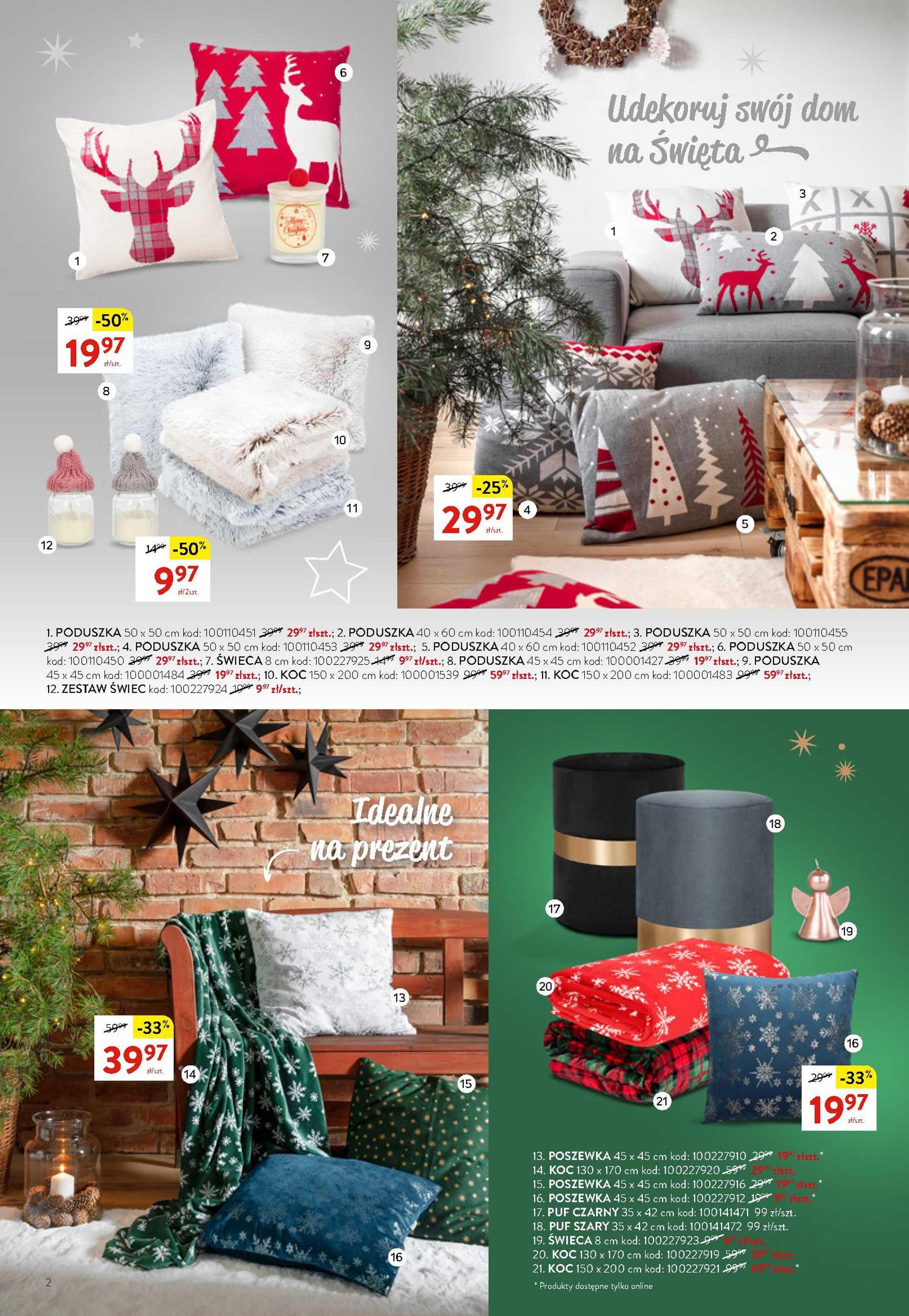 Komfort - gazetka promocyjna ważna od 18.11.2020 do 27.12.2020 - strona 2.