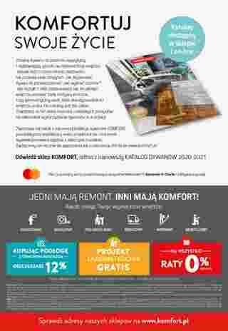 Komfort - gazetka promocyjna ważna od 18.11.2020 do 27.12.2020 - strona 32.