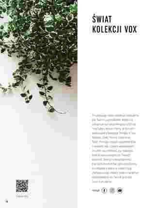 Vox - gazetka promocyjna ważna od 01.01.2020 do 31.12.2020 - strona 14.