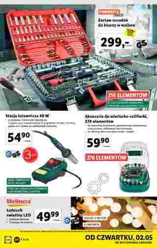 Lidl - gazetka promocyjna ważna od 29.04.2019 do 04.05.2019 - strona 26.