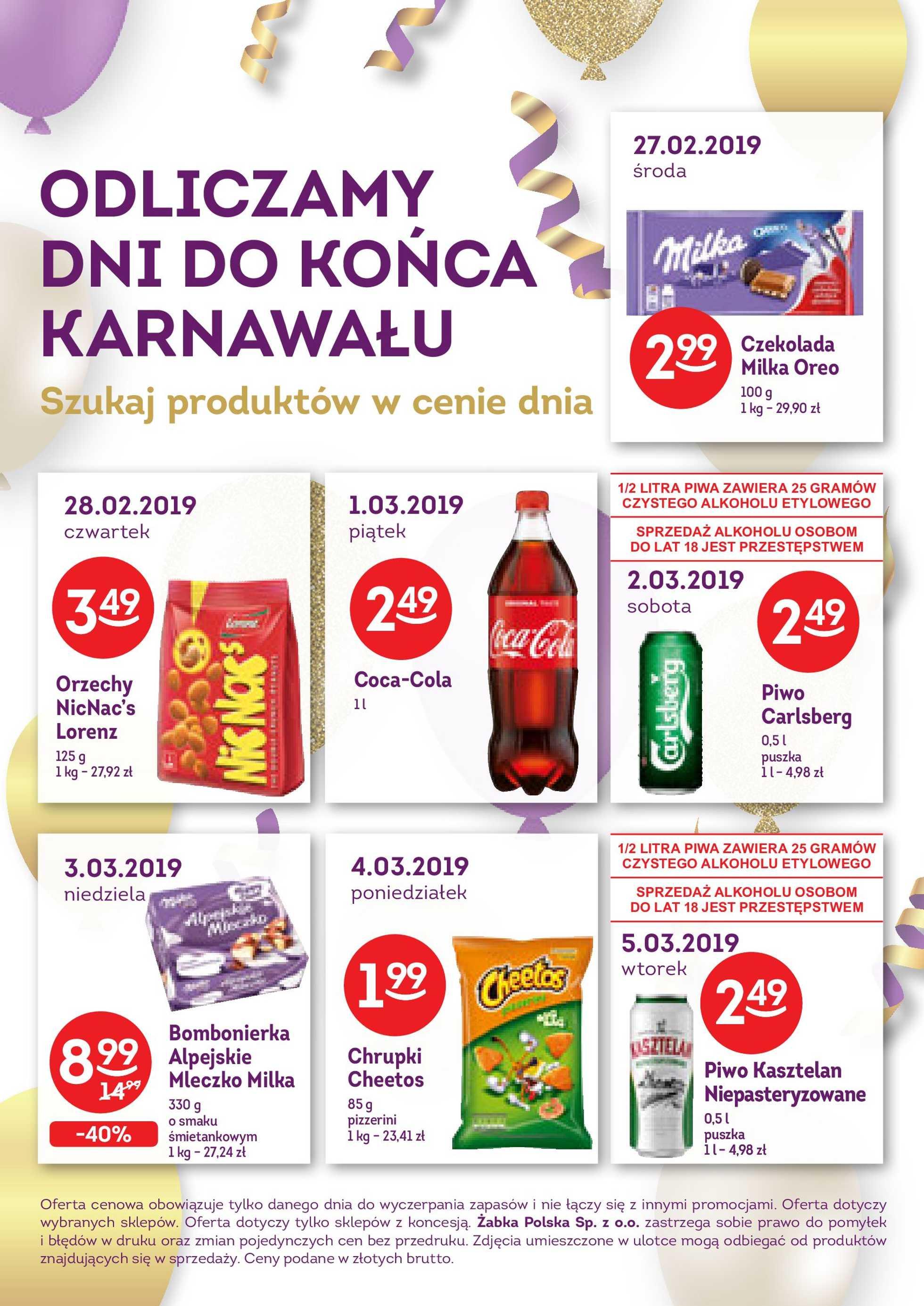 Żabka - gazetka promocyjna ważna od 27.02.2019 do 05.03.2019 - strona 2.