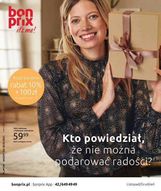 Bonprix - gazetka promocyjna ważna od 01.12.2020 do 30.05.2021 - strona 1.