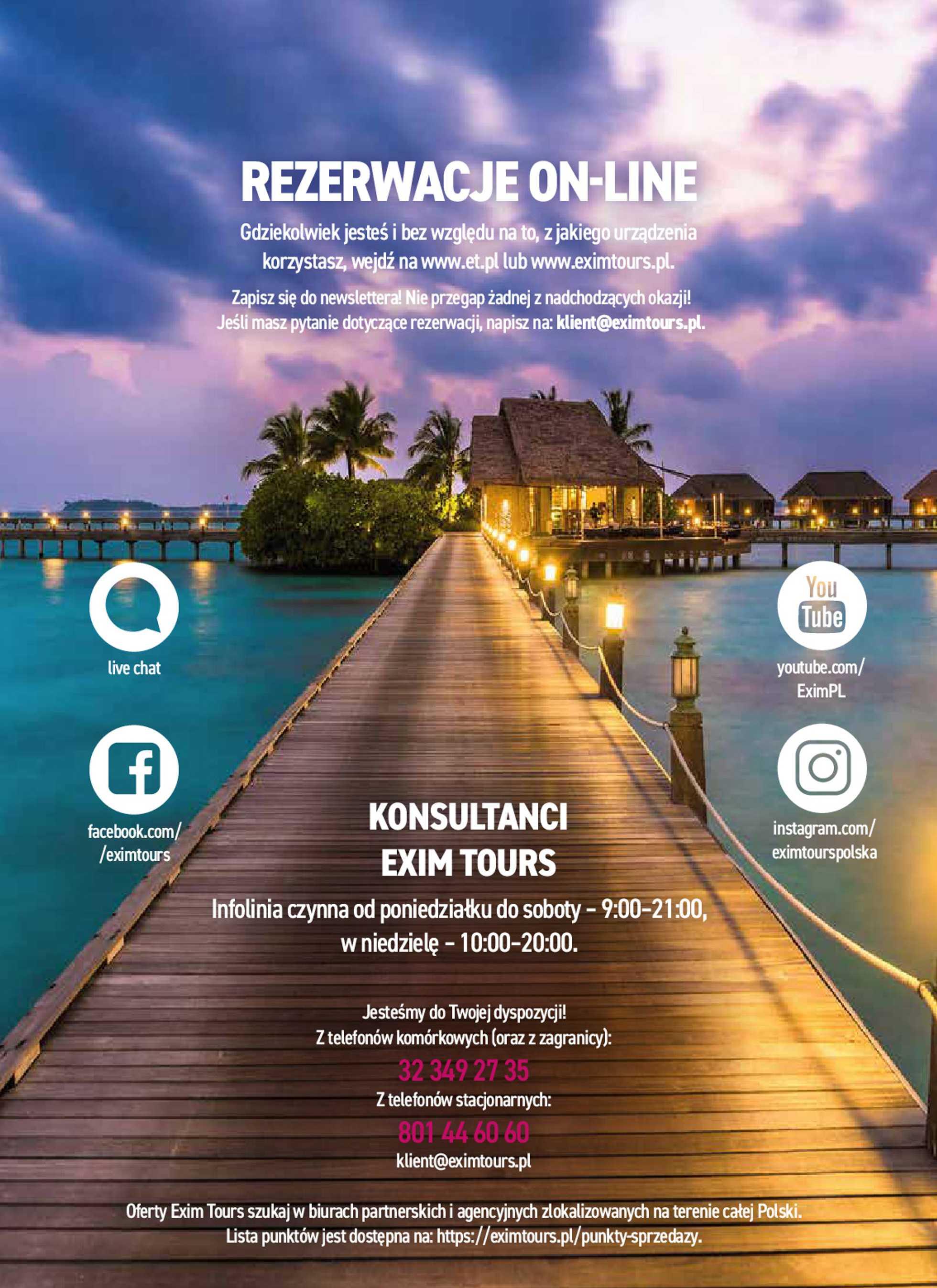 Exim Tours - gazetka promocyjna ważna od 01.03.2020 do 31.03.2021 - strona 2.