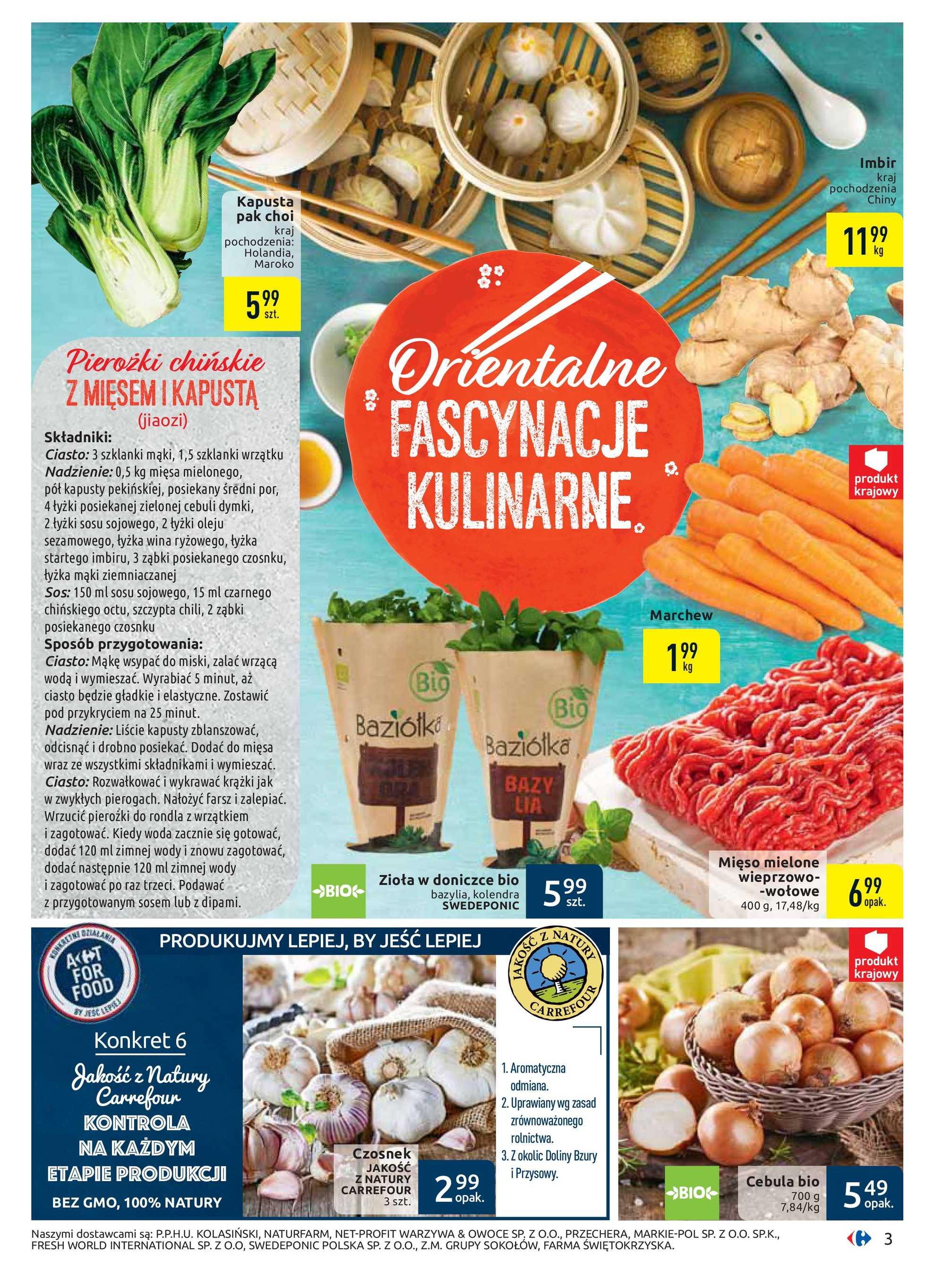 Carrefour - gazetka promocyjna ważna od 21.01.2020 do 01.02.2020 - strona 3.