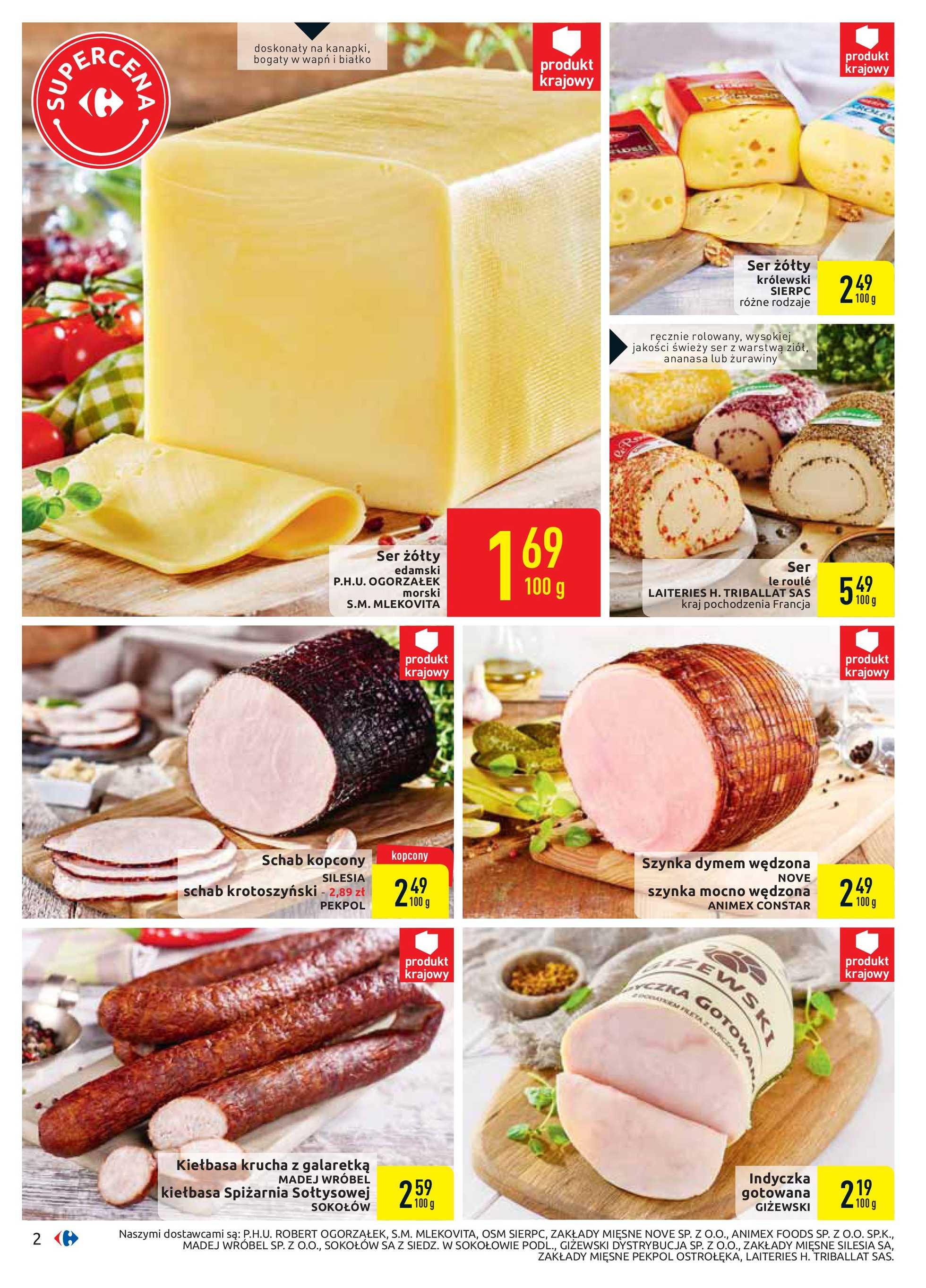 Carrefour - gazetka promocyjna ważna od 21.01.2020 do 01.02.2020 - strona 2.