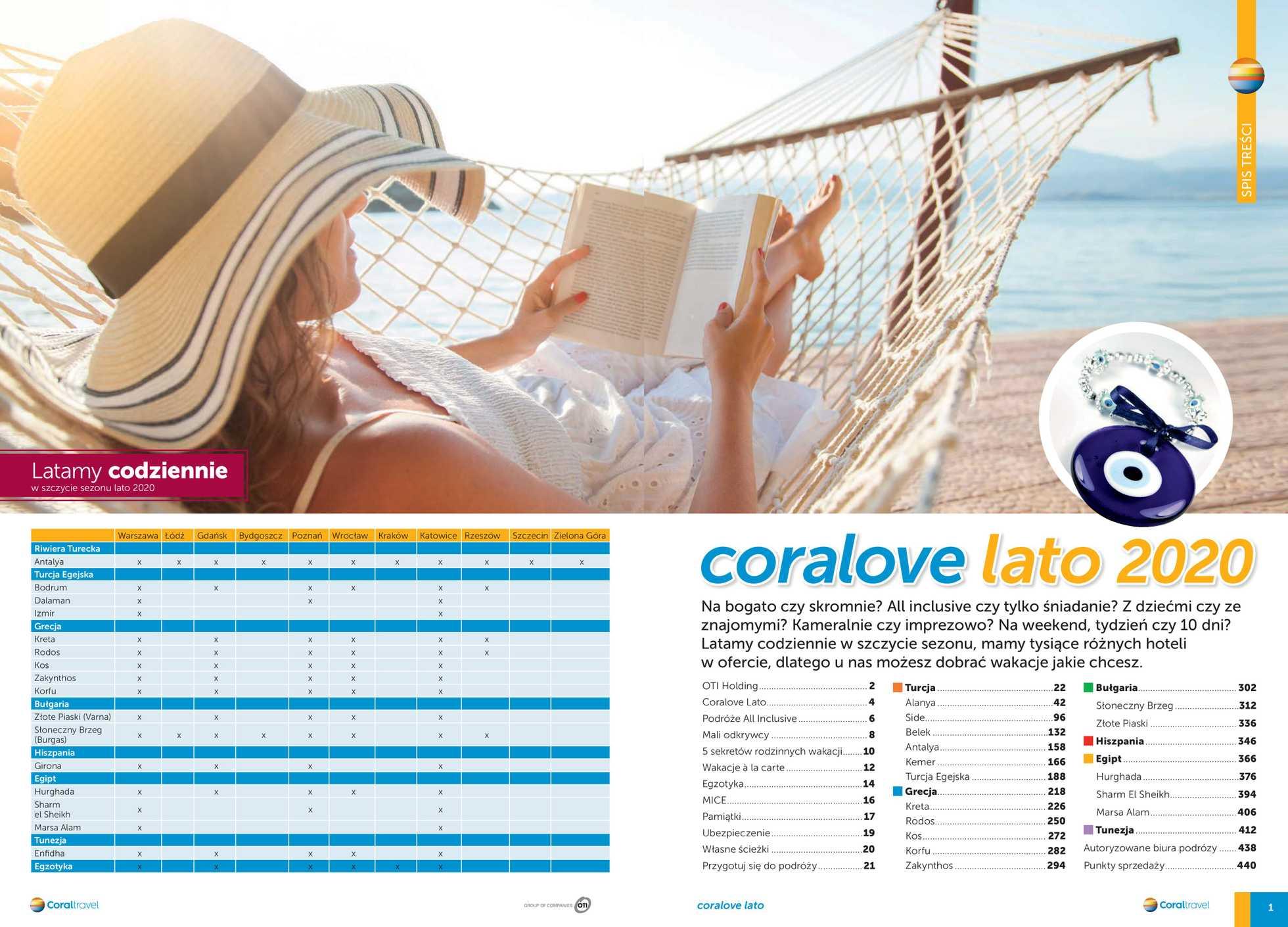 Coral Travel - gazetka promocyjna ważna od 14.11.2019 do 31.03.2020 - strona 2.