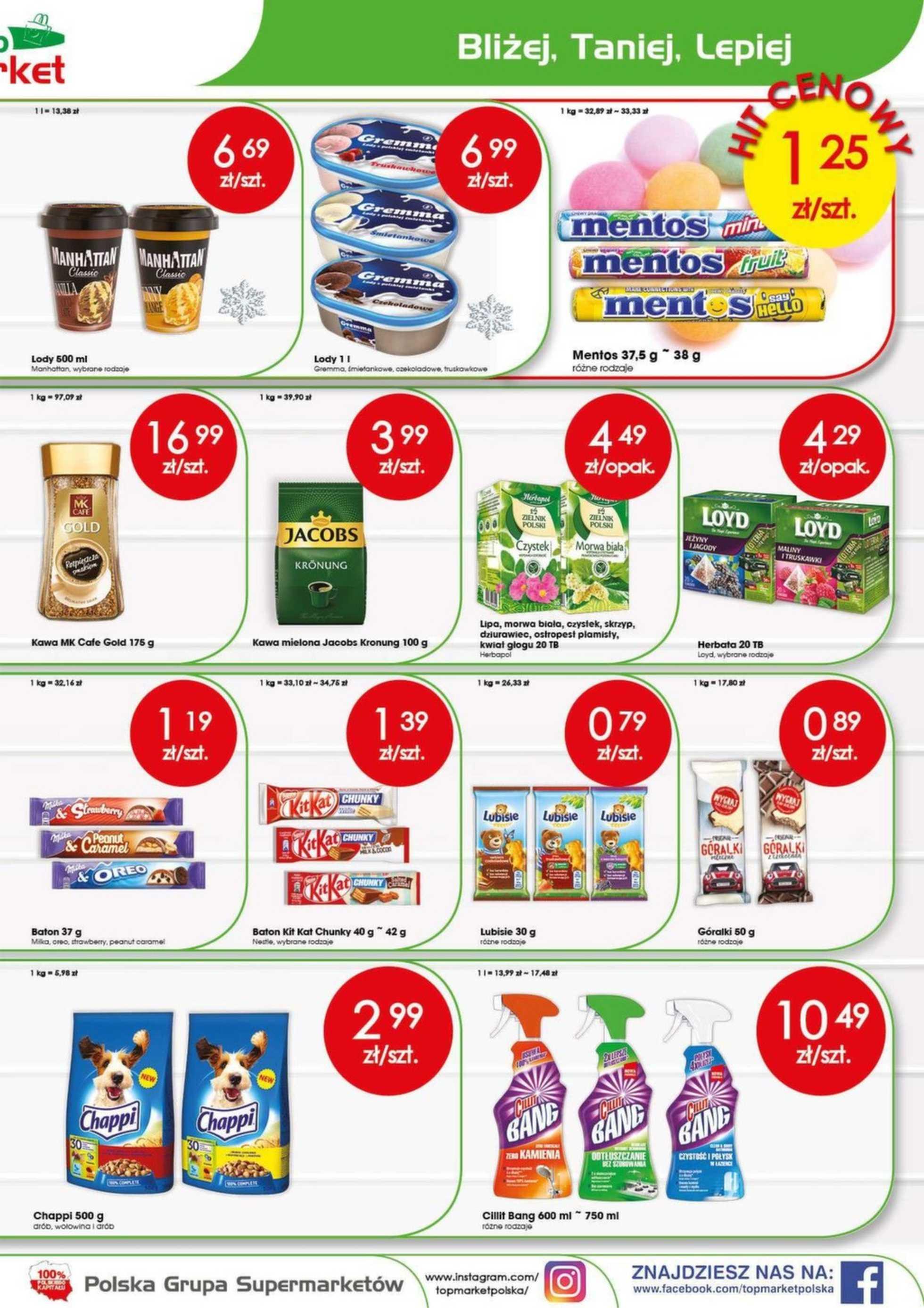 Top Market - gazetka promocyjna ważna od 13.05.2019 do 18.05.2019 - strona 3.
