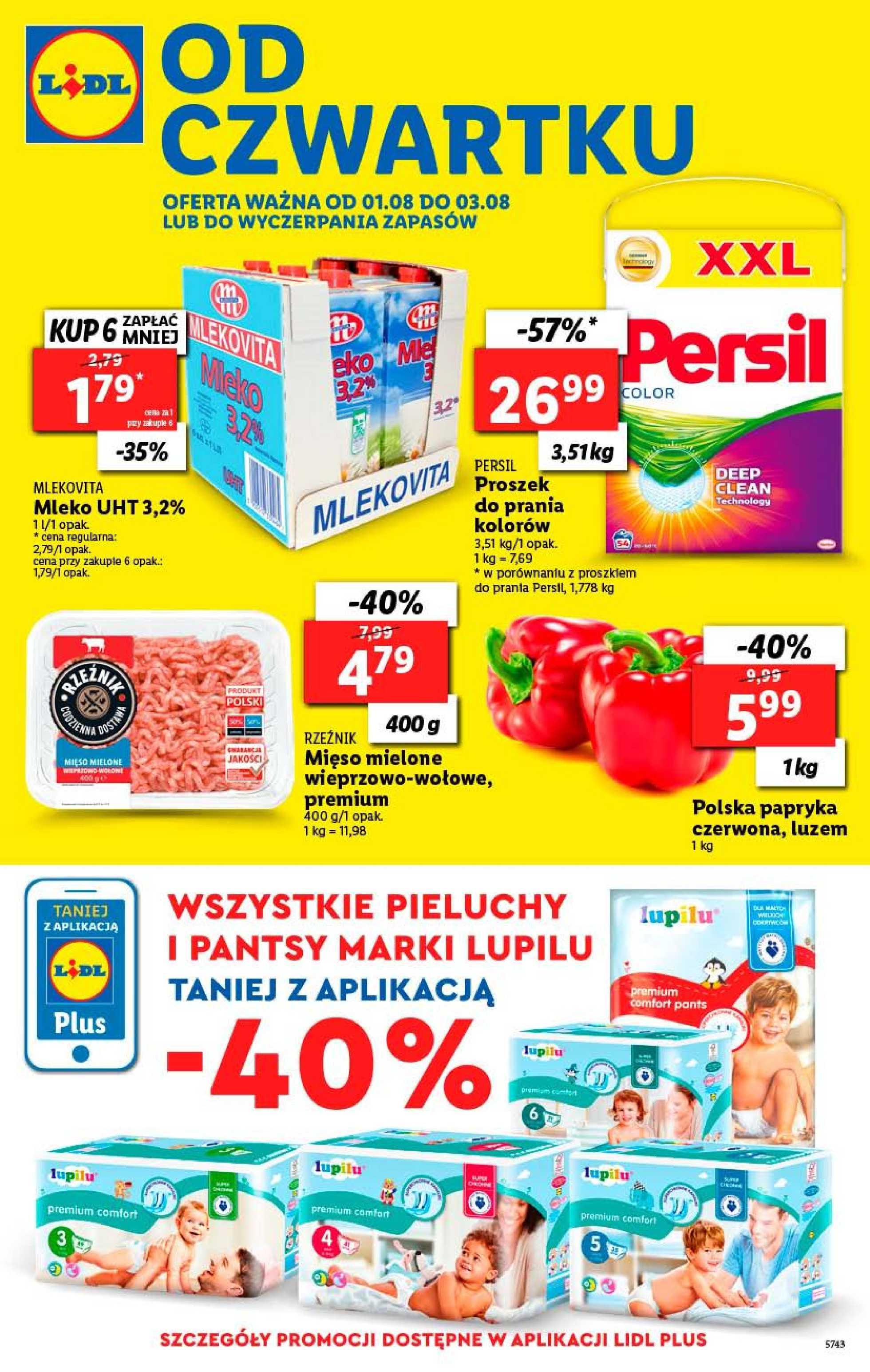 Lidl - gazetka promocyjna ważna od 01.08.2019 do 03.08.2019 - strona 1.