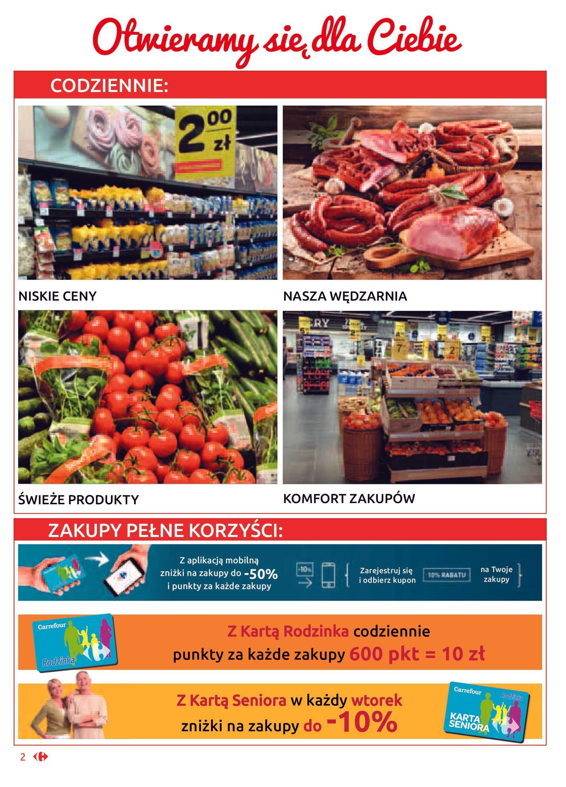 Carrefour Market - gazetka promocyjna ważna od 21.01.2020 do 01.02.2020 - strona 2.