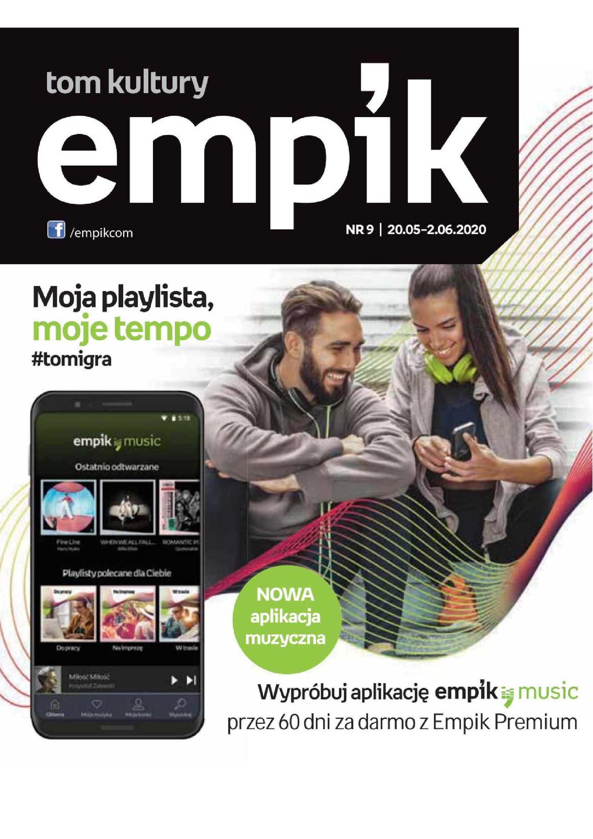 Empik - gazetka promocyjna ważna od 20.05.2020 do 02.06.2020 - strona 1.