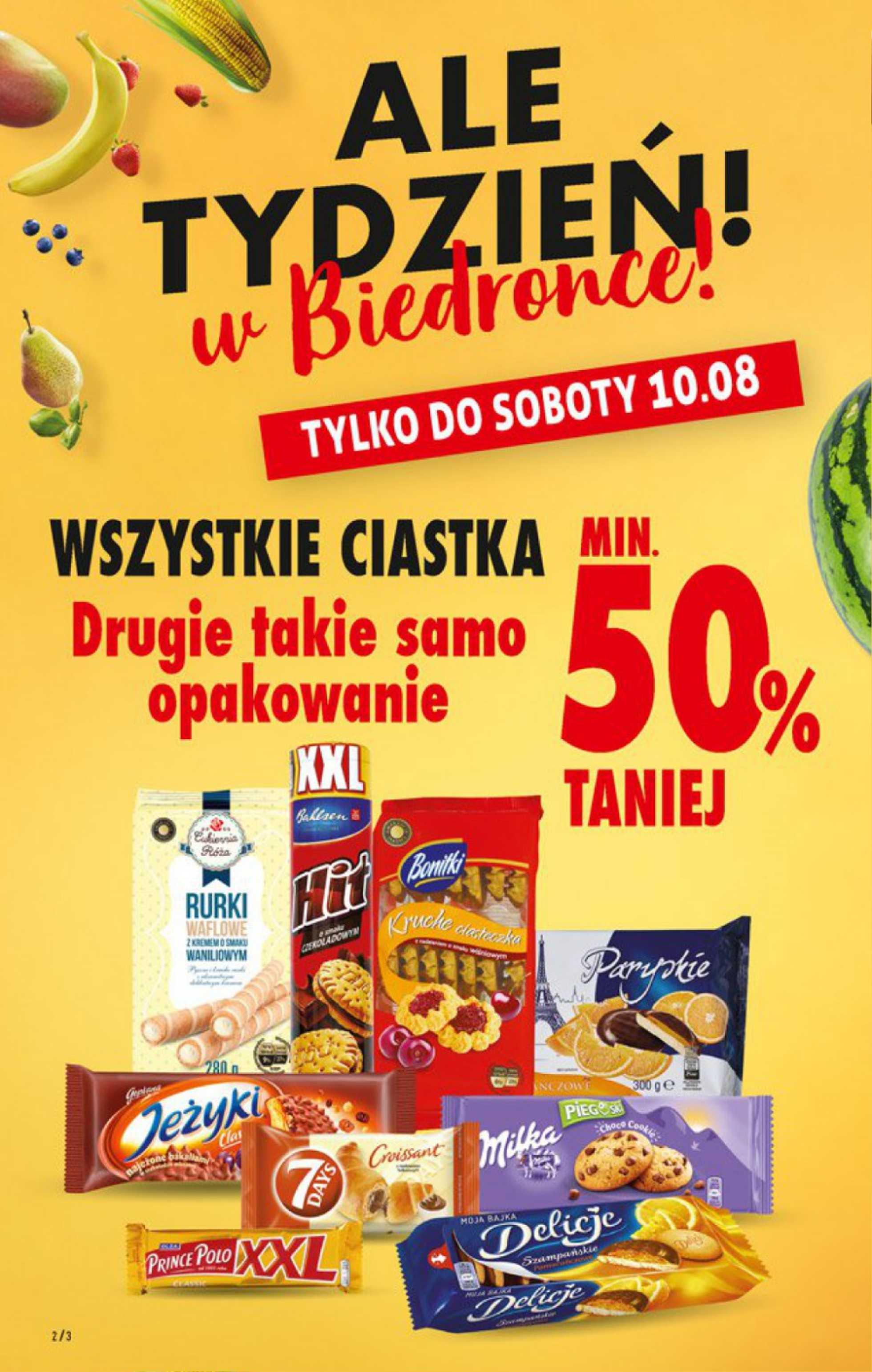 Biedronka - gazetka promocyjna ważna od 08.08.2019 do 14.08.2019 - strona 2.