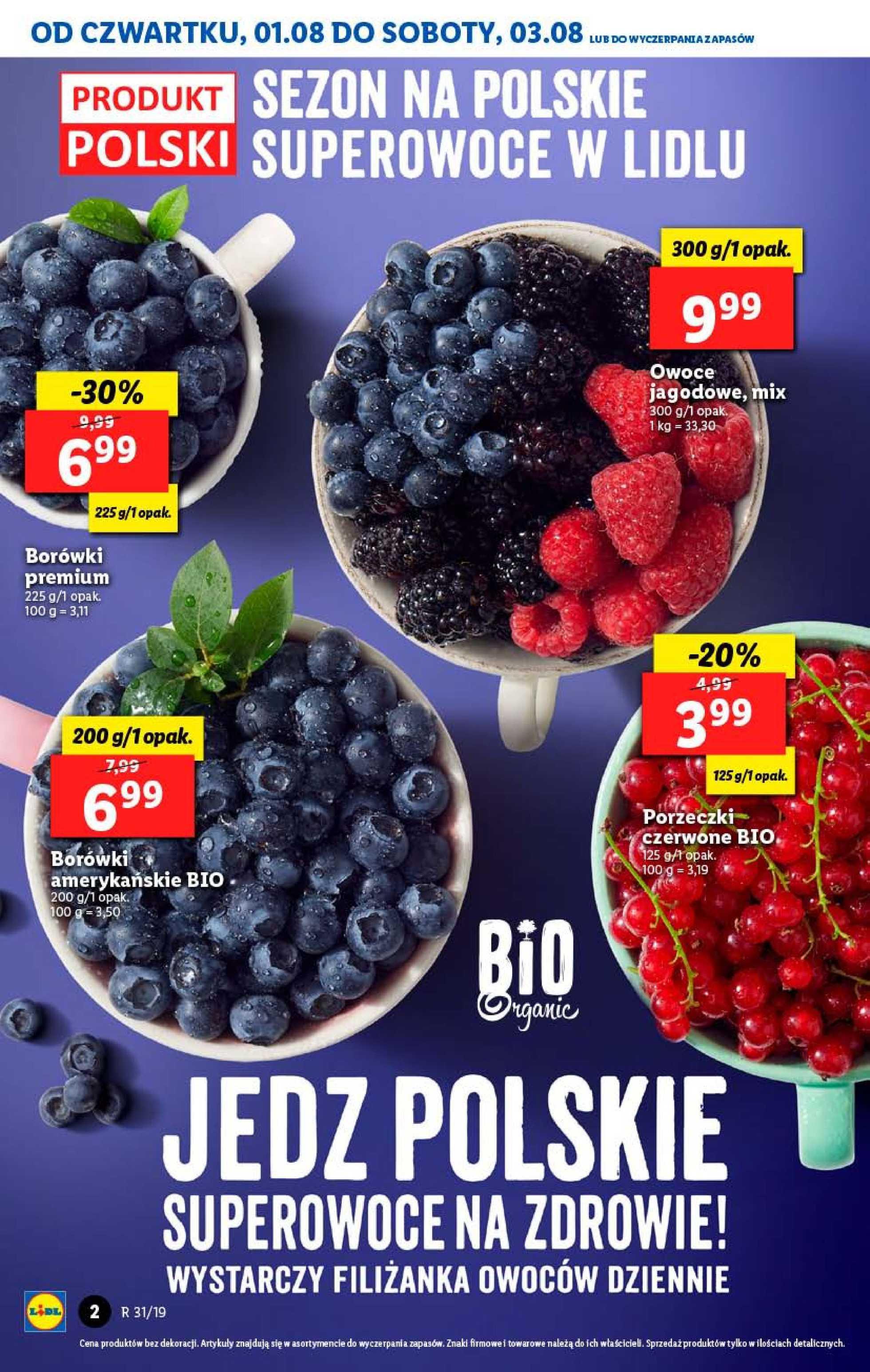 Lidl - gazetka promocyjna ważna od 01.08.2019 do 03.08.2019 - strona 2.