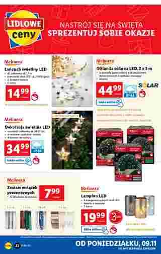 Lidl - gazetka promocyjna ważna od 09.11.2020 do 14.11.2020 - strona 22.